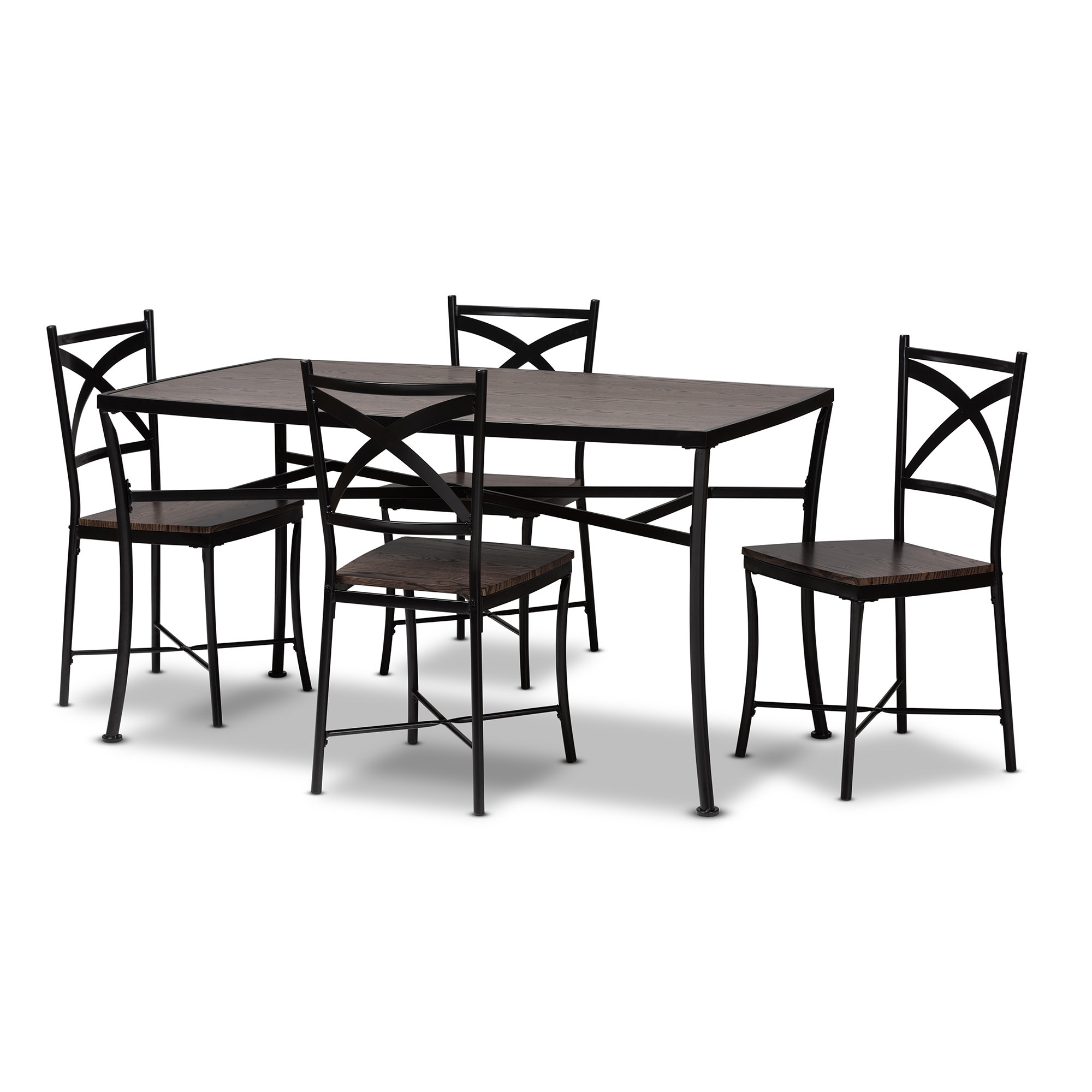 Preferred August Grove Nailwell 5 Piece Dining Set (View 15 of 20)
