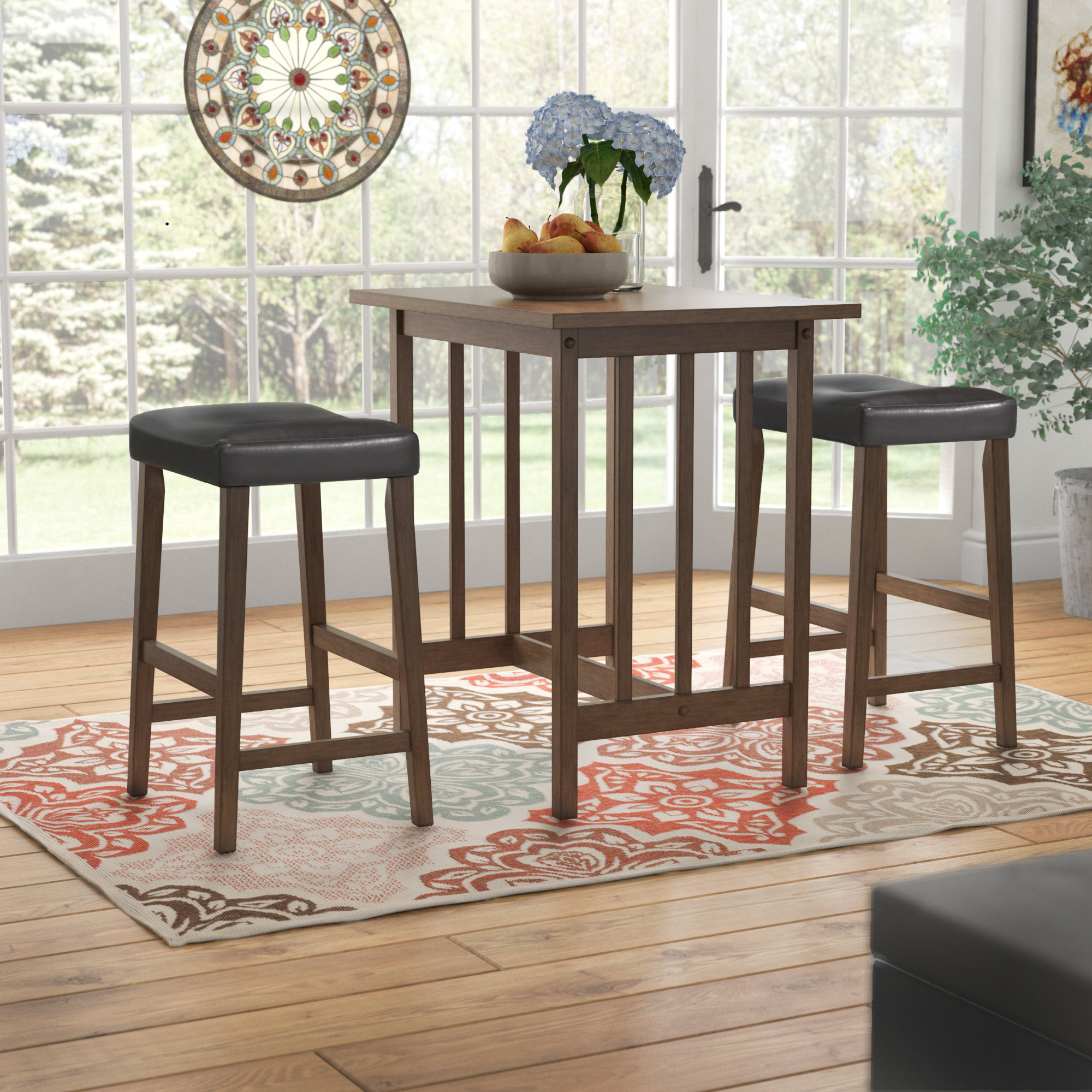 Preferred Red Barrel Studio Hood Canal 3 Piece Dining Set & Reviews (#14 of 20)