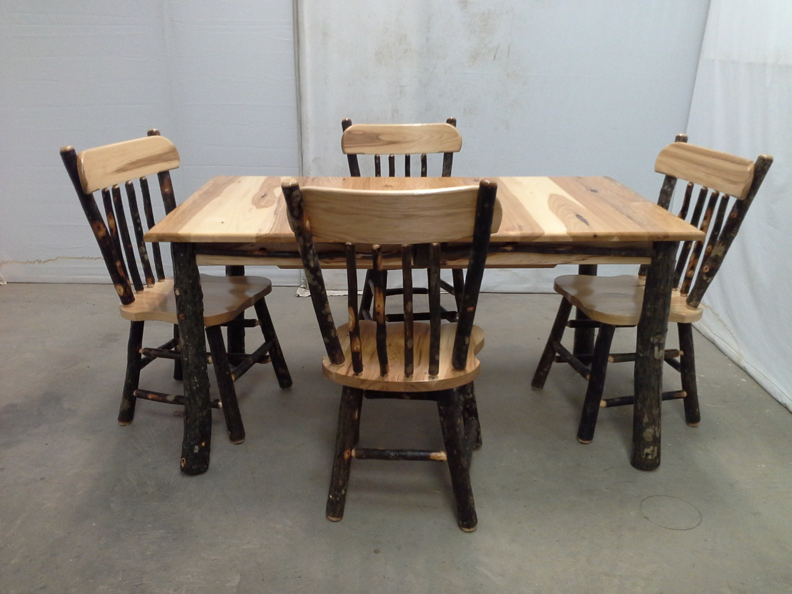 Inspiration about Preferred Reinert 5 Piece Dining Sets With Regard To Rustic Furniture For Home Or Cabin (#15 of 20)