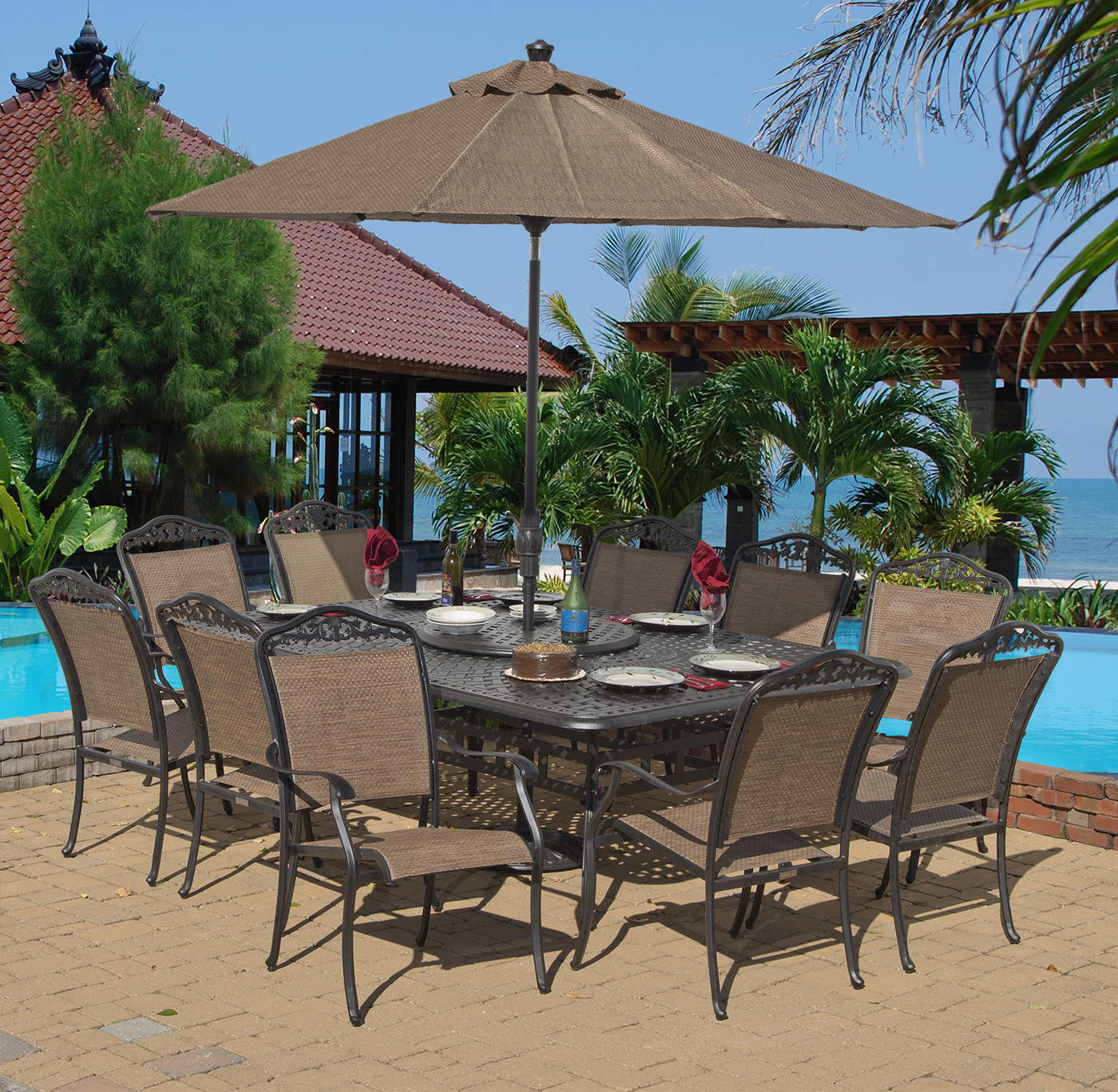 Inspiration about Preferred St. Croix Dining Set Of 11 (Mf) Inside Saintcroix 3 Piece Dining Sets (#18 of 20)