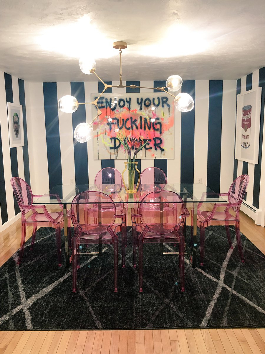 """Inspiration about Preferred Wallflower 3 Piece Dining Sets Regarding Wallflower On Twitter: """"my Dining Room >>>>… """" (#16 of 20)"""