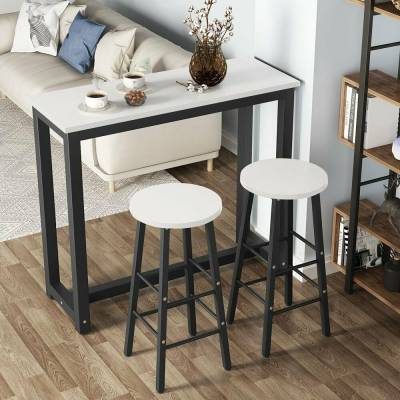 Presson 3 Piece Counter Height Dining Sets Regarding Most Recent Home & Garden – Furniture: Find Tribesigns Products Online At (#13 of 20)