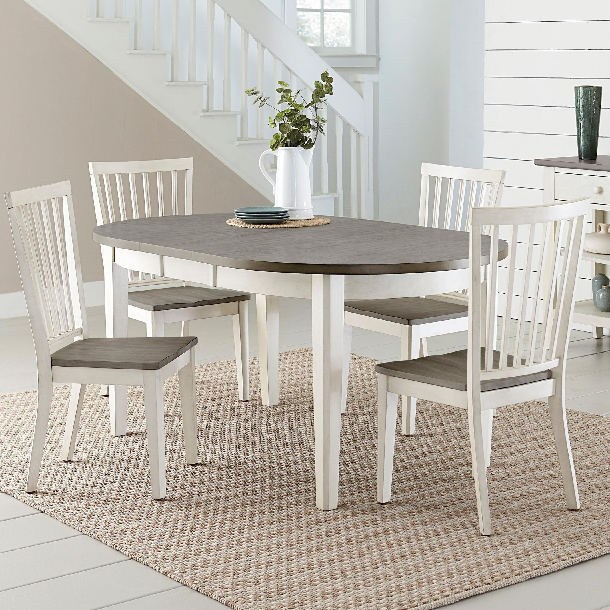 Inspiration about Progressive Furniture Lancaster Casual 5 Piece Dining Set With Two Within Famous Conover 5 Piece Dining Sets (#17 of 20)