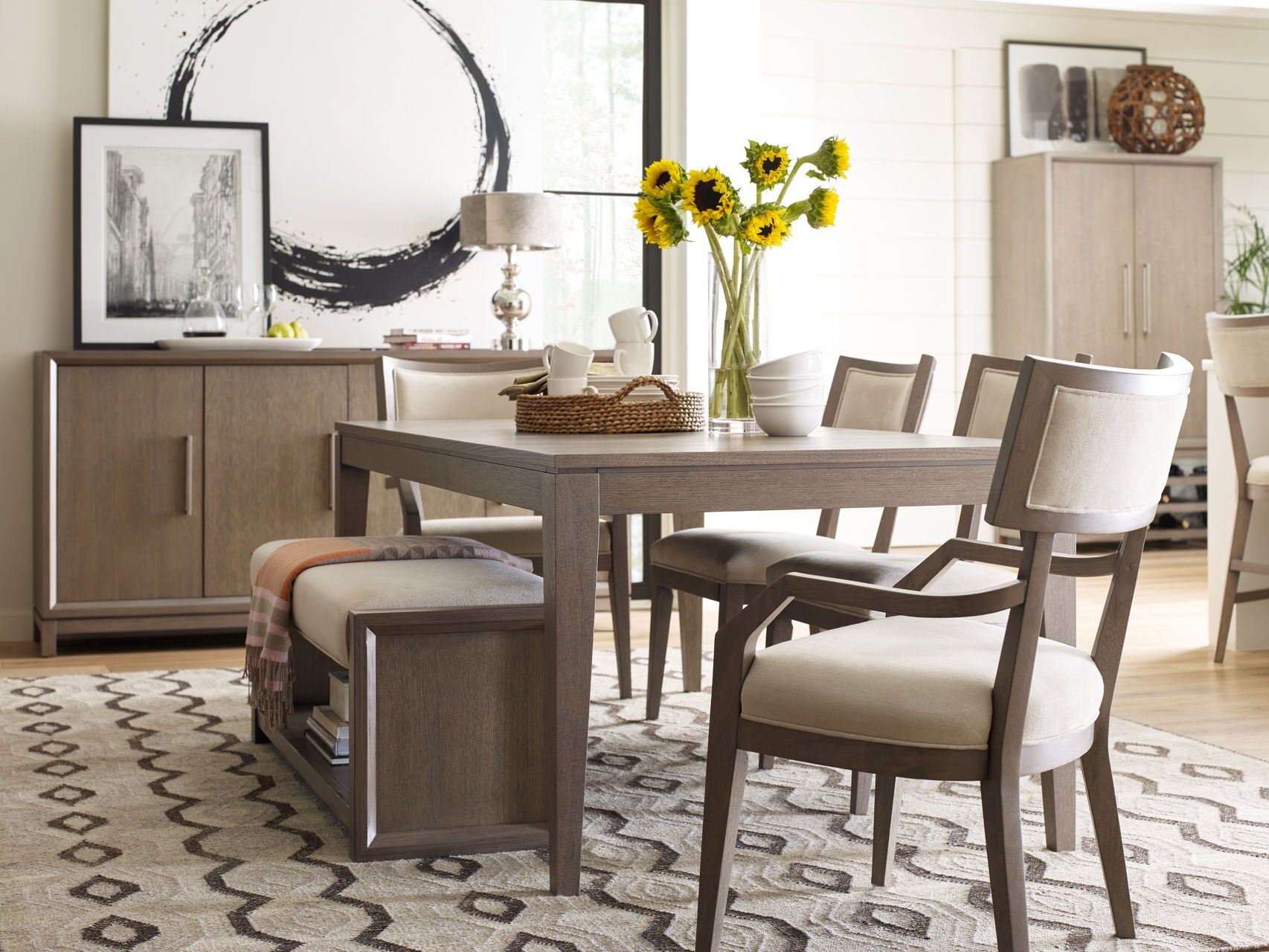 Inspiration about Rachael In Well Known Lamotte 5 Piece Dining Sets (#11 of 20)