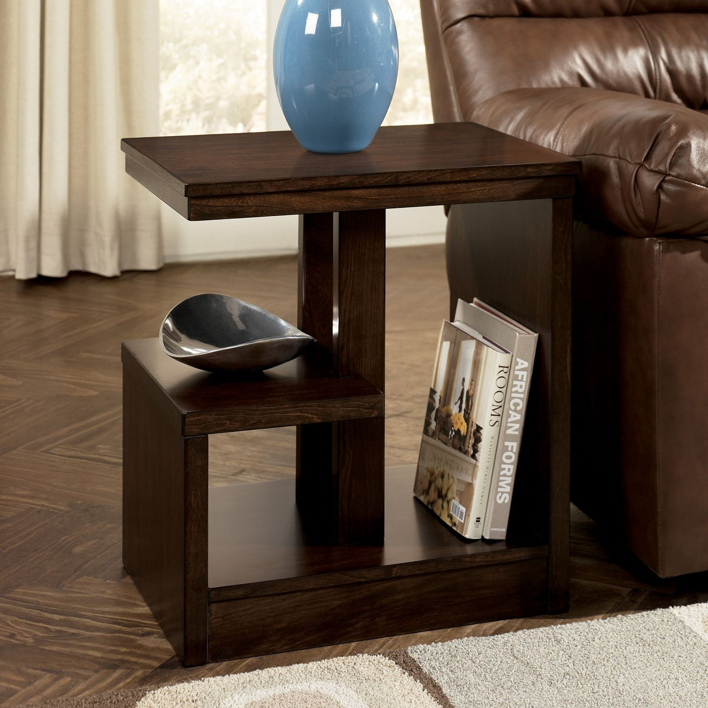 Inspiration about Rarick 5 Piece Solid Wood Dining Sets (Set Of 5) Inside Famous Signature Designashley T670 7 Callum Chairside End Table At Atg (#2 of 20)