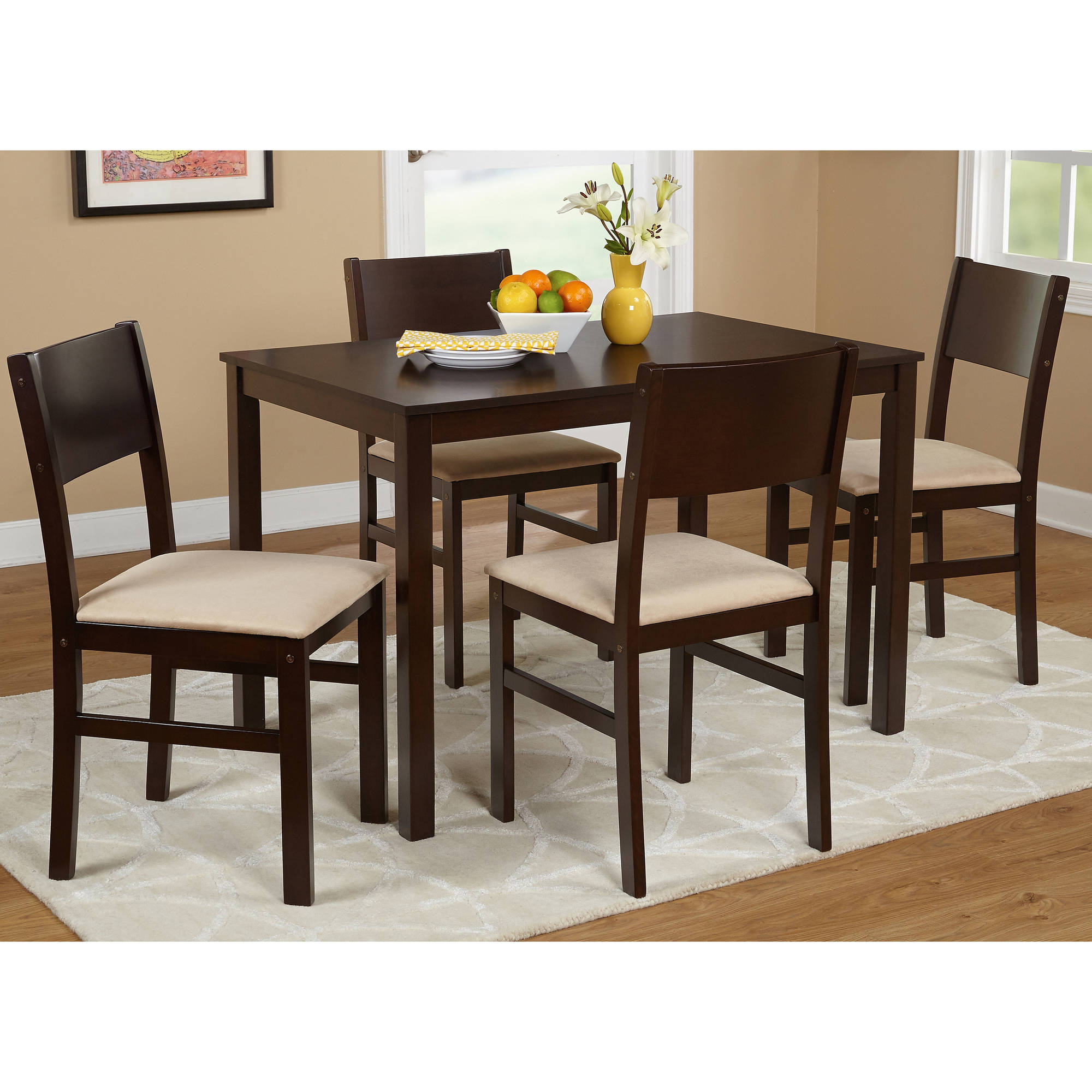 Inspiration about Recent 5 Piece Dining Sets Pertaining To Tms Lucca 5 Piece Dining Set, Multiple Colors – Walmart (#2 of 20)