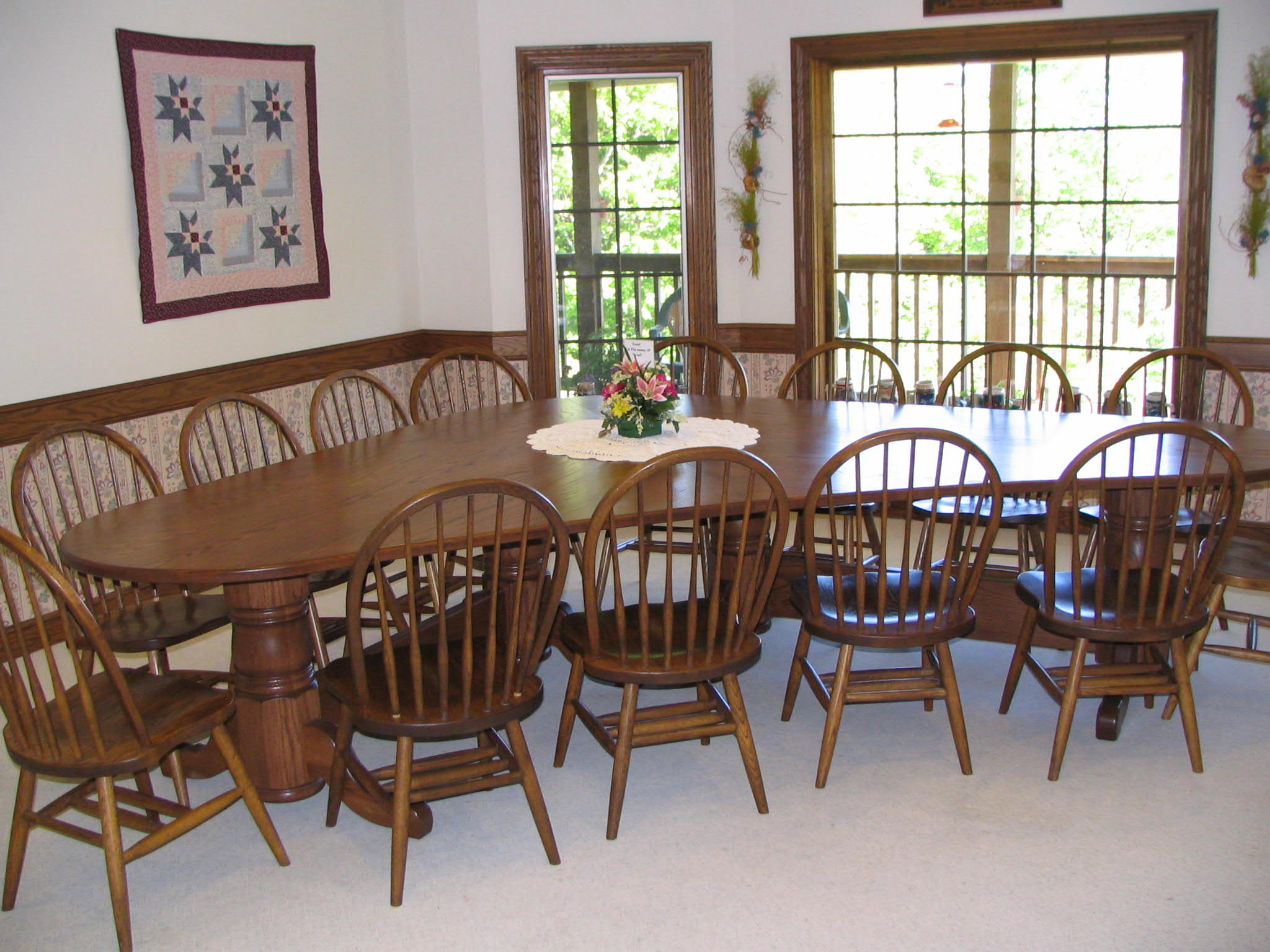 Recent Northwoods 3 Piece Dining Sets With Regard To Lembke Furniture & Antique Auction – Northwood Auctions (#14 of 20)