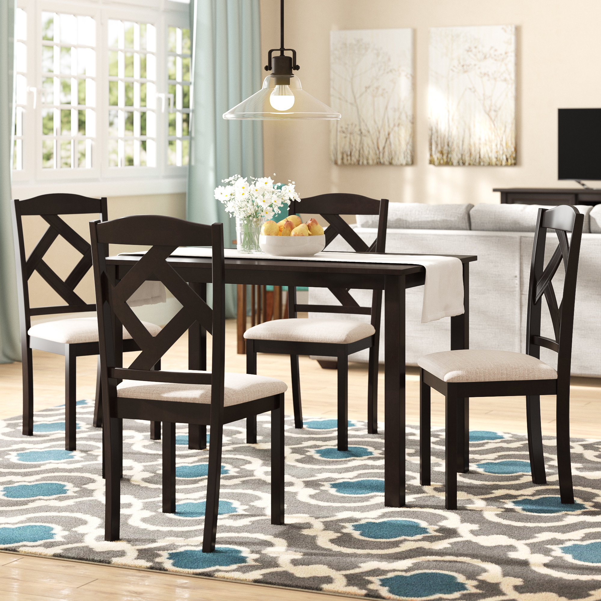 Popular Photo of 5 Piece Breakfast Nook Dining Sets