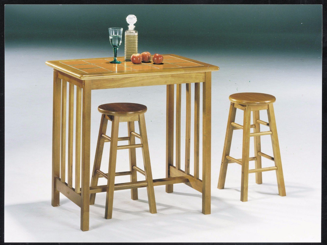 Inspiration about Red Barrel Studio Mazan 3 Piece Counter Height Breakfast Nook Dining Within Most Current Mizpah 3 Piece Counter Height Dining Sets (#11 of 20)