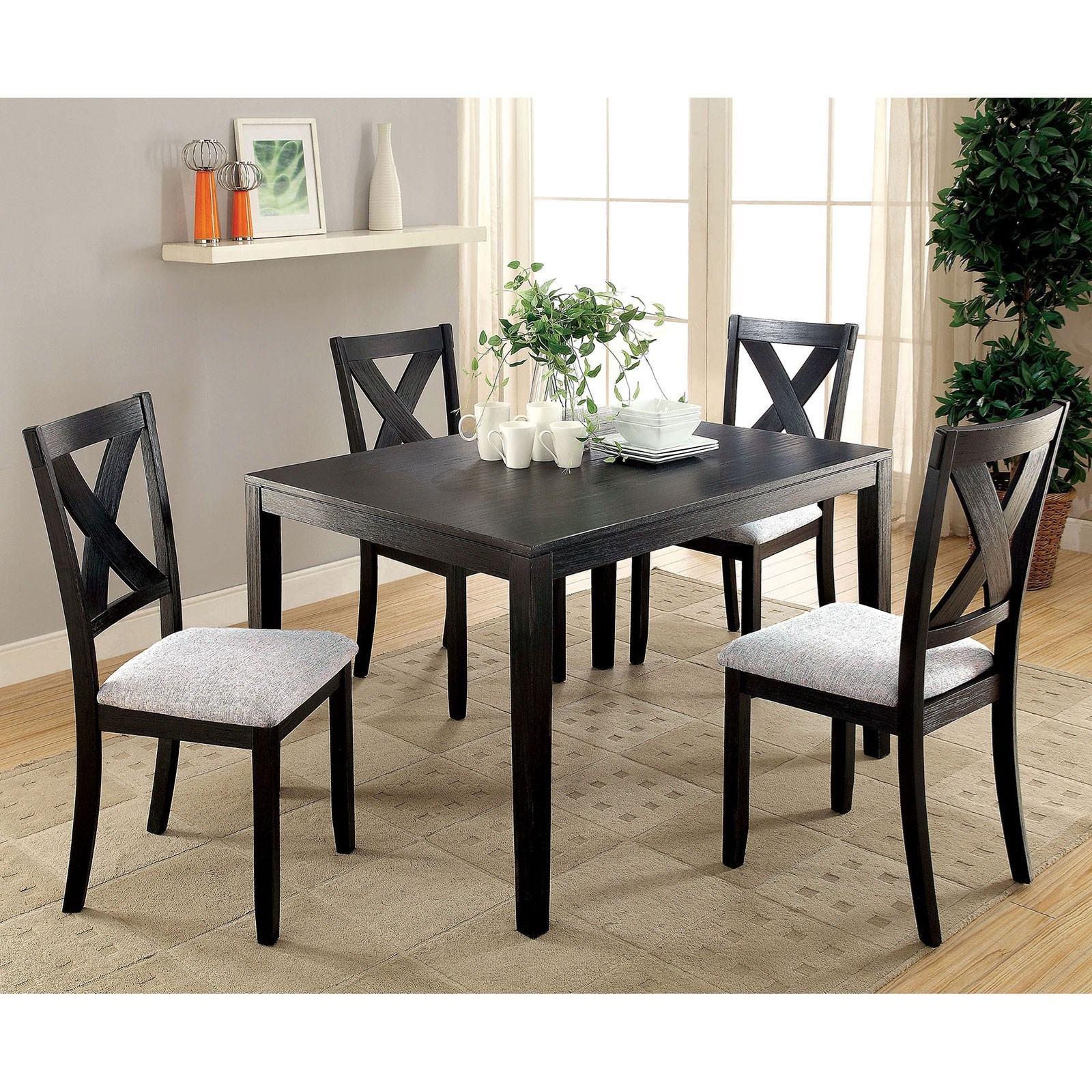 Rooms For Regarding Most Recent 5 Piece Dining Sets (#15 of 20)