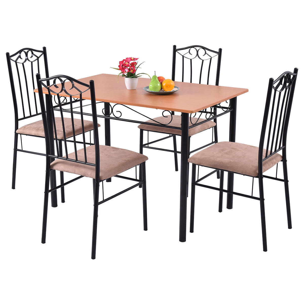 Popular Photo of Rossi 5 Piece Dining Sets