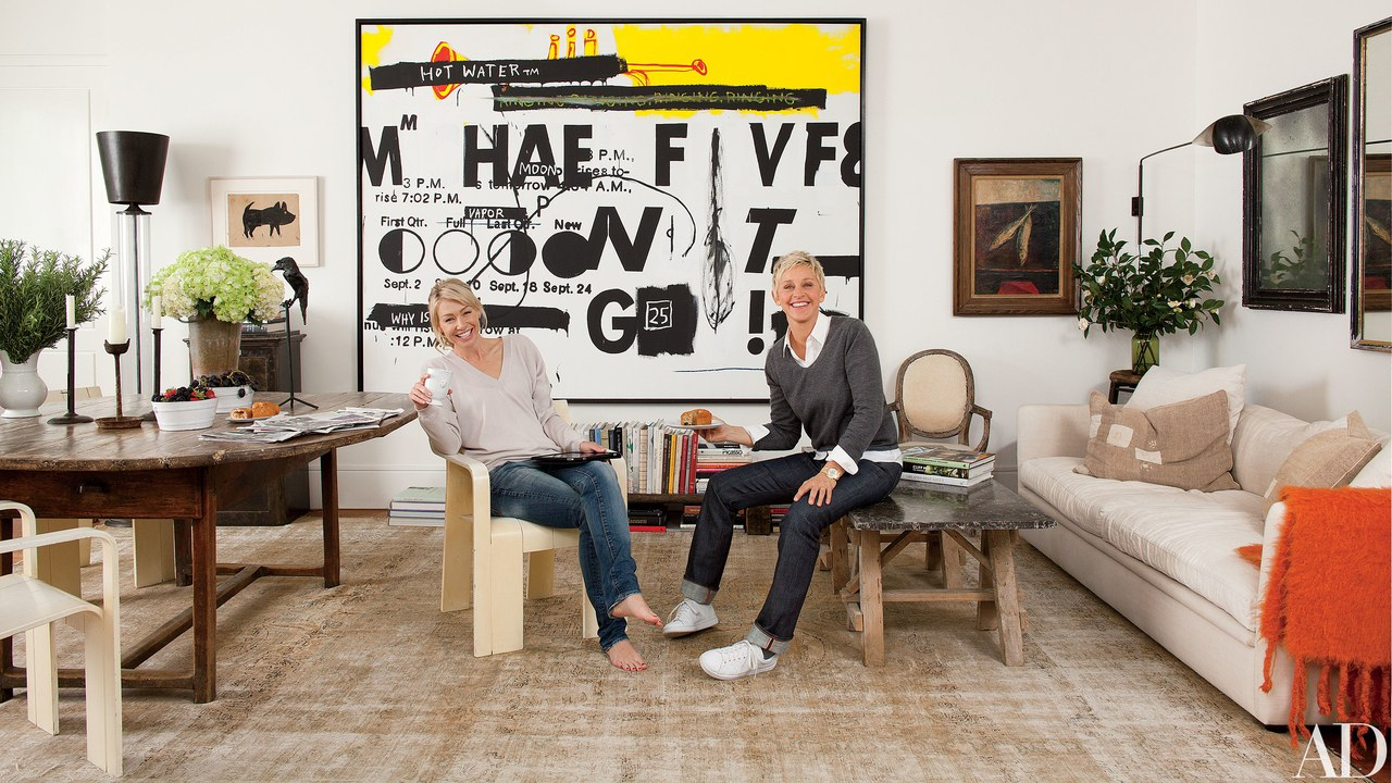 Inspiration about Rossi 5 Piece Dining Sets Intended For Best And Newest Inside Ellen Degeneres And Portia De Rossi's House In California (#15 of 20)