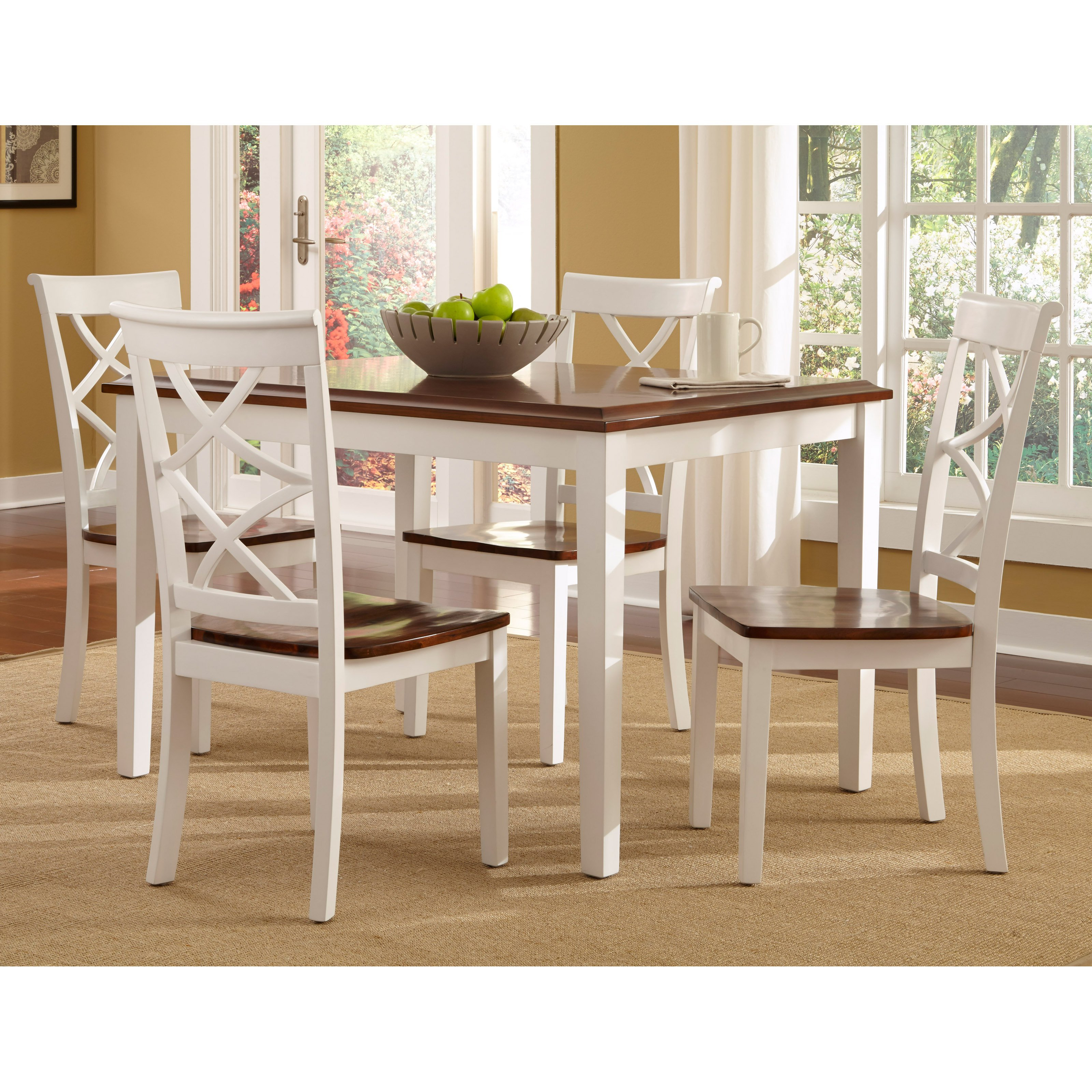 Rossiter 3 Piece Dining Sets Inside Widely Used Metropolitan 3 Piece Dining Set, Multiple Finishes – Walmart (#12 of 20)