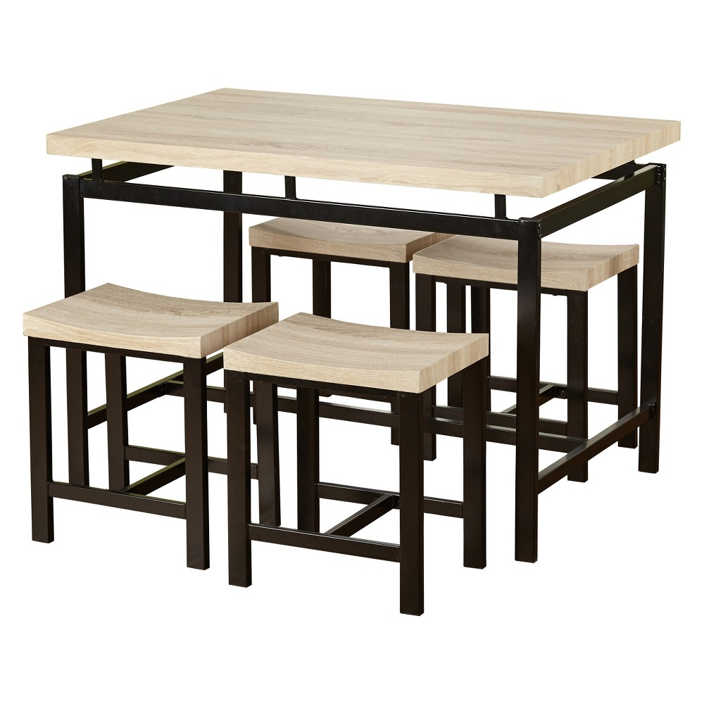 Inspiration about Ryker 3 Piece Dining Sets For Most Popular 5pc Liberty Dining Set – Natural – Buylateral In 2019 (#16 of 20)