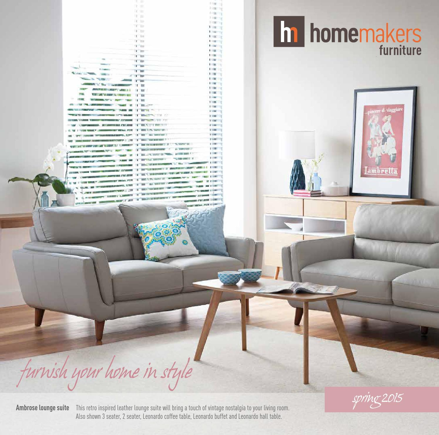 Inspiration about Shepparton Vintage 3 Piece Dining Sets In Famous Homemakers Spring Catalogue 2015homemakers Furniture – Issuu (#19 of 20)