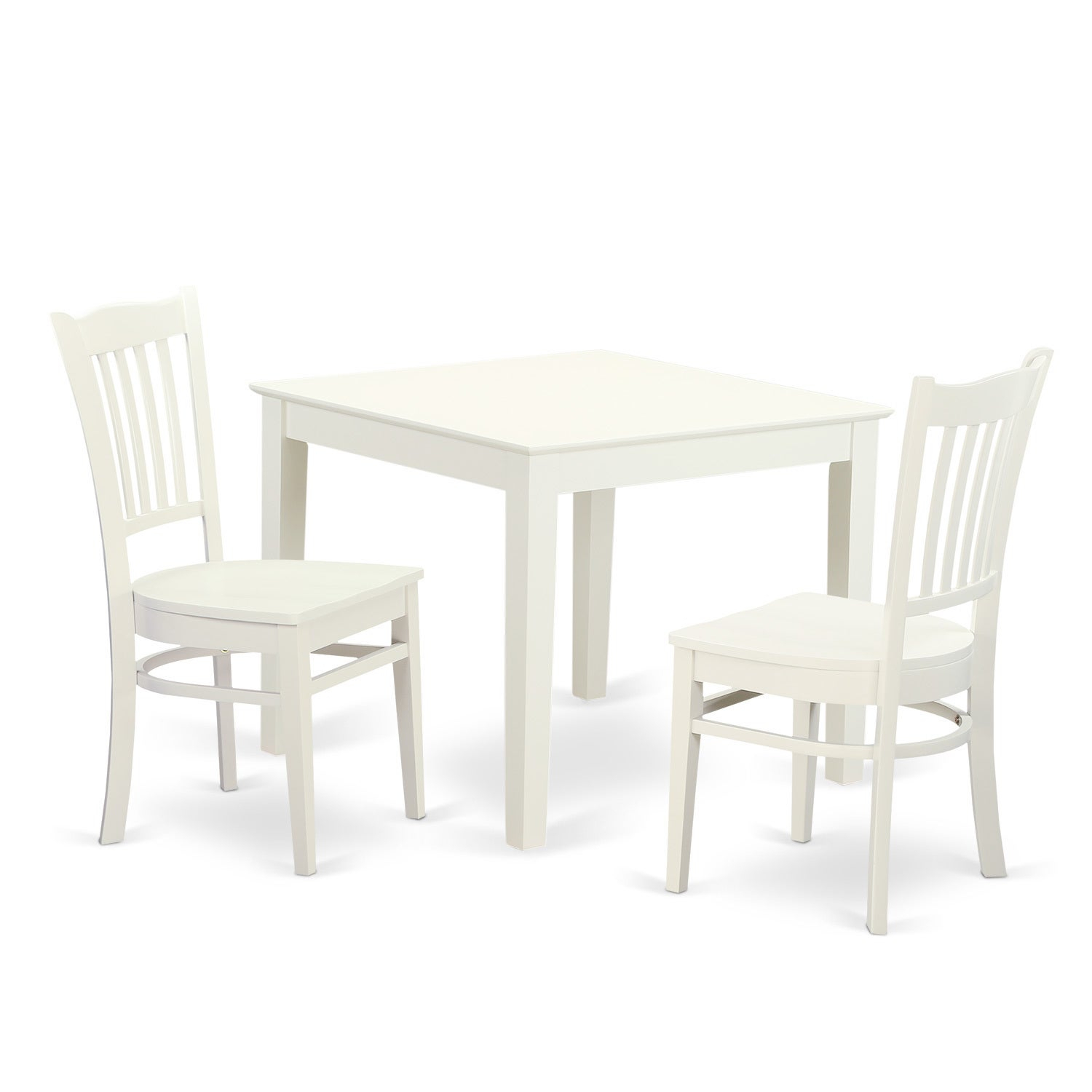 Shop Oxgr3 W 3 Piece Breakfast Nook Table And 2 Wood Dining Room Inside 2020 3 Piece Breakfast Nook Dinning Set (#17 of 20)