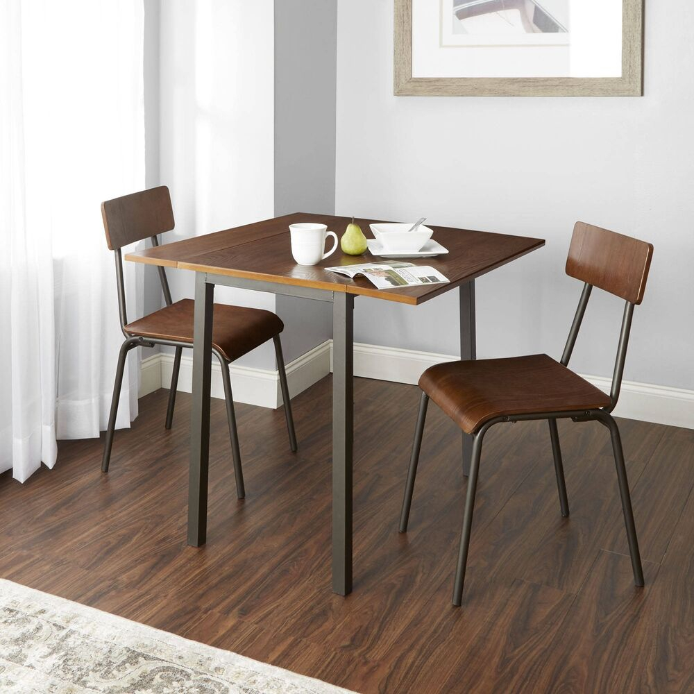Smyrna 3 Piece Dining Sets Regarding Best And Newest Breakfast Nook Dining Set 3 Piece Wood And Amp; Metal Table And (View 15 of 20)