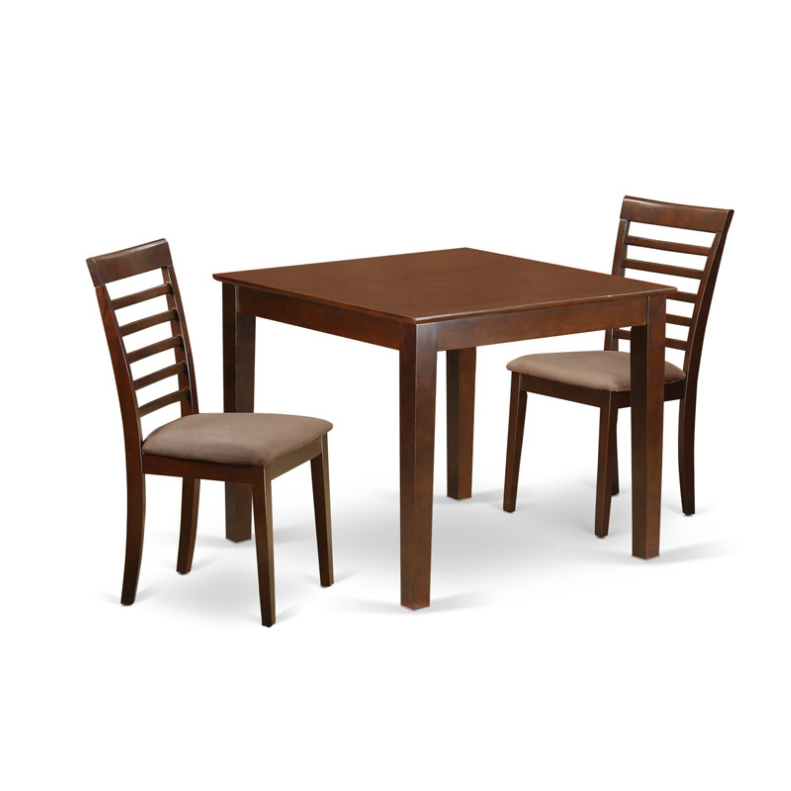 Smyrna 3 Piece Dining Sets With Regard To Fashionable East West Furniture 3 Piece Straight Ladderback Breakfast Nook (View 4 of 20)