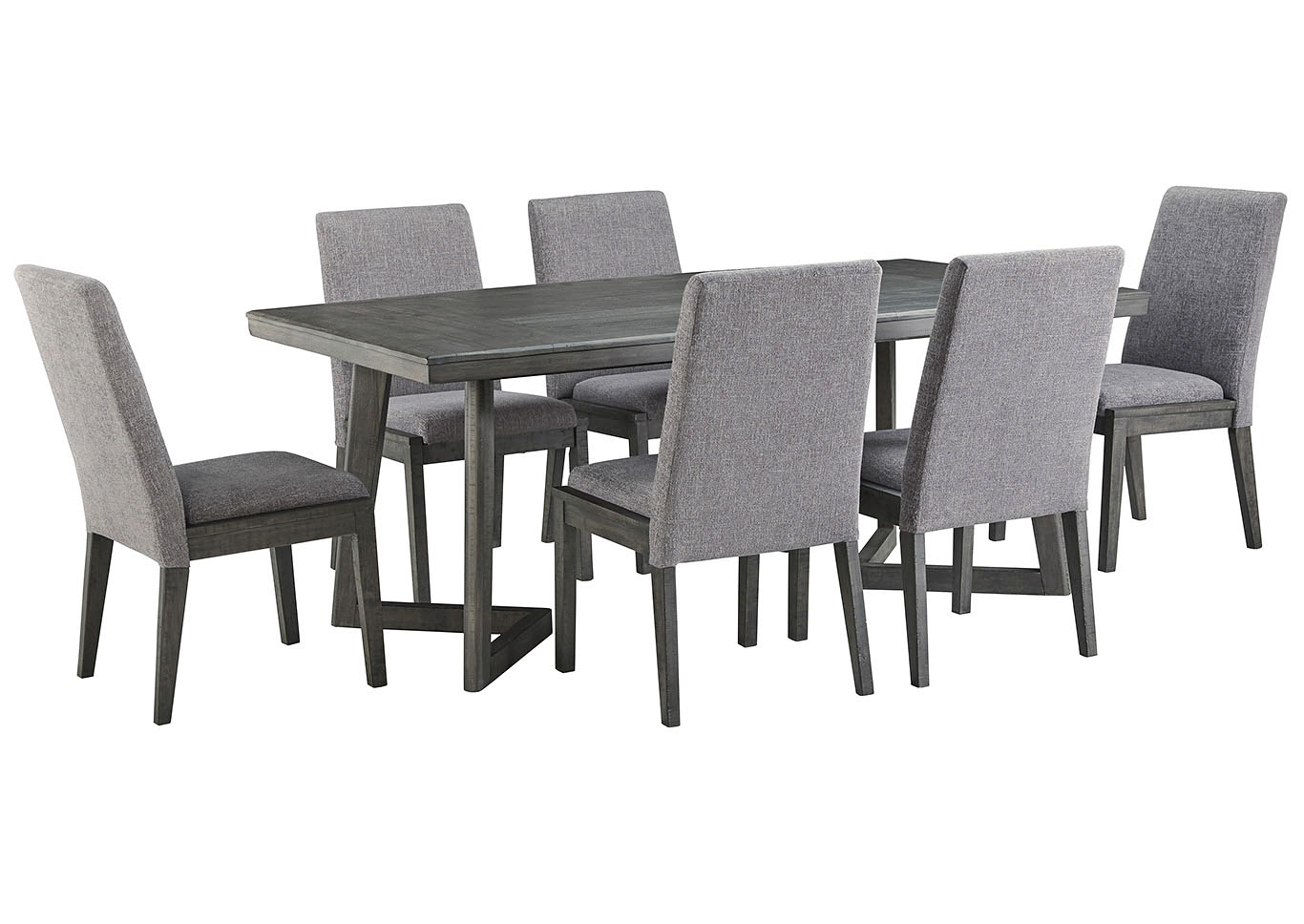 Springfield 3 Piece Dining Sets For Popular Dream Decor – Furniture – Springfield – Ma Besteneer Dark Gray (View 19 of 20)