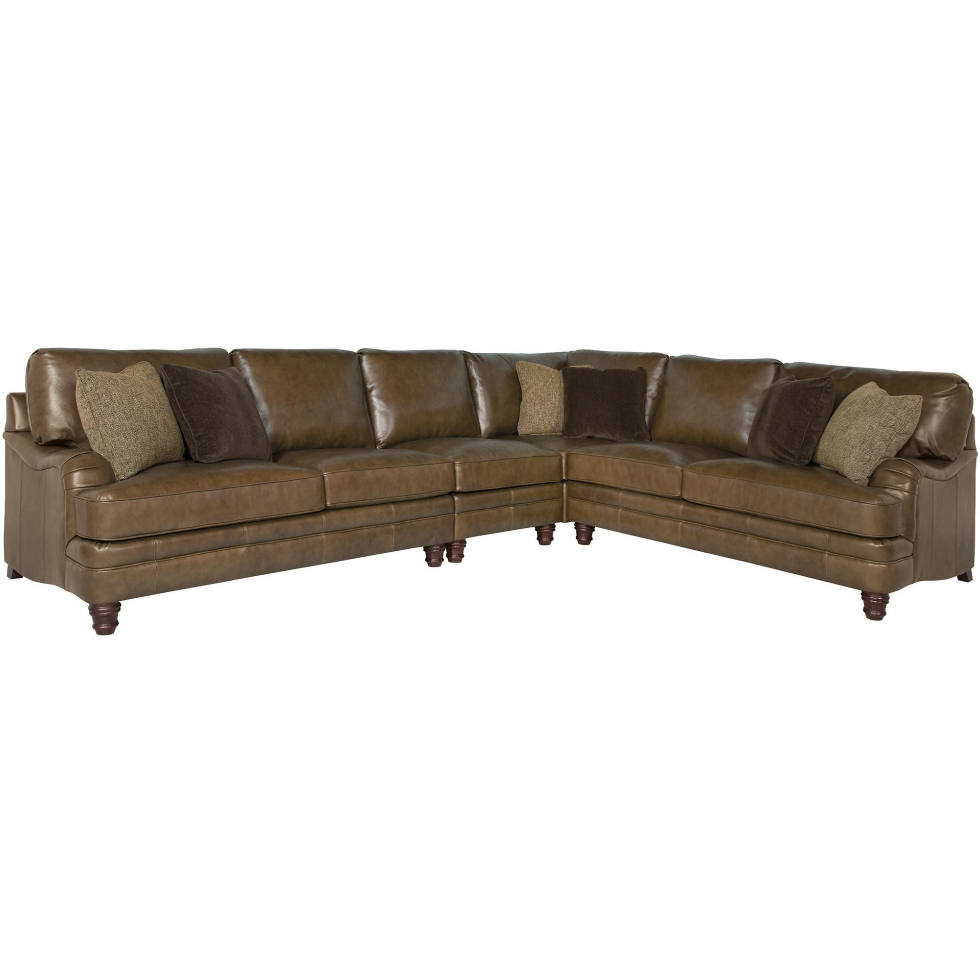 Inspiration about Tarleton 5 Piece Dining Sets Throughout Most Recent Bernhardt Tarleton Traditional Styled Sectional Sofa (#18 of 20)