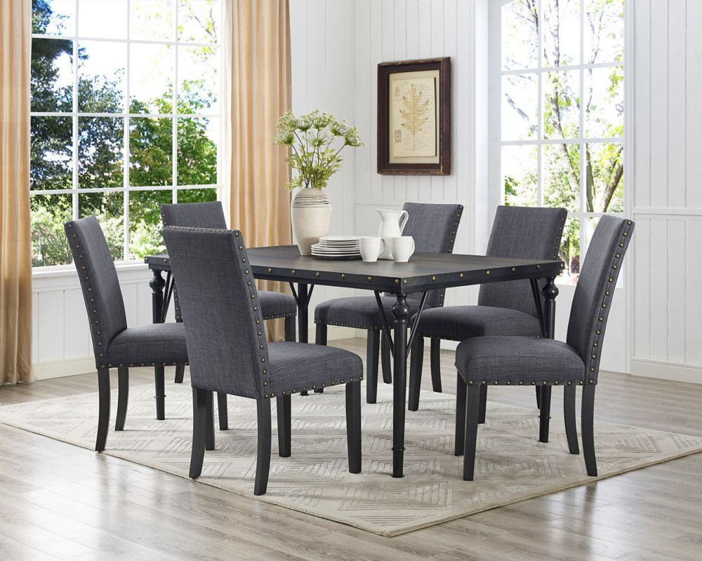 Inspiration about The Home Depot Canada Pertaining To Evellen 5 Piece Solid Wood Dining Sets (Set Of 5) (#9 of 20)