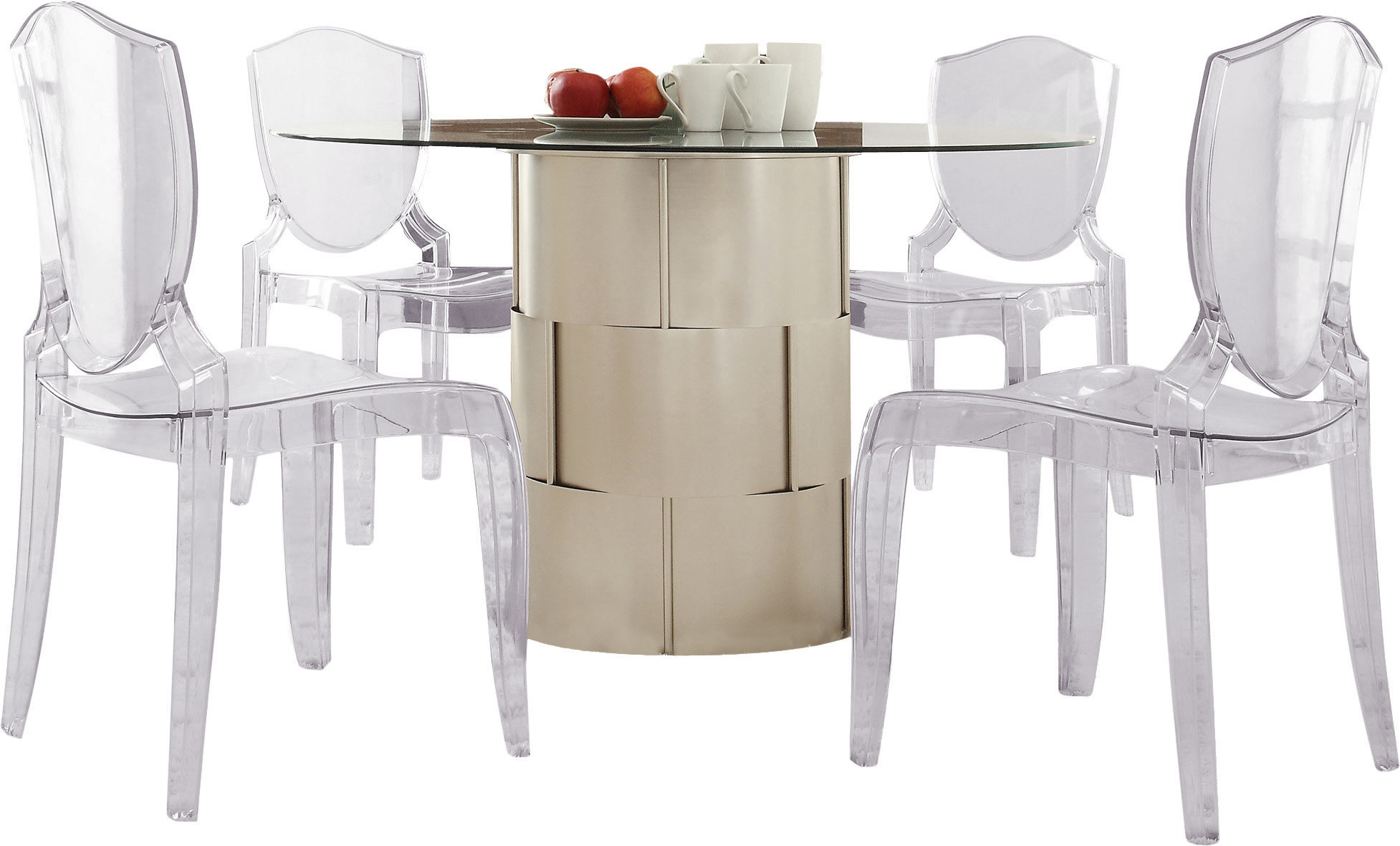 Inspiration about Travon 5 Piece Dining Sets Inside Current Kingstown Home Emanuella 5 Piece Dining Set (#9 of 20)