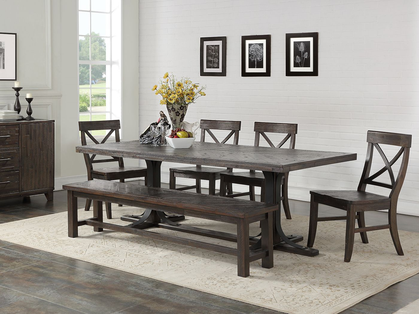 Trendy Aria 5 Piece Dining Sets Throughout Direct Designs® Aria 5 Pc (View 2 of 20)