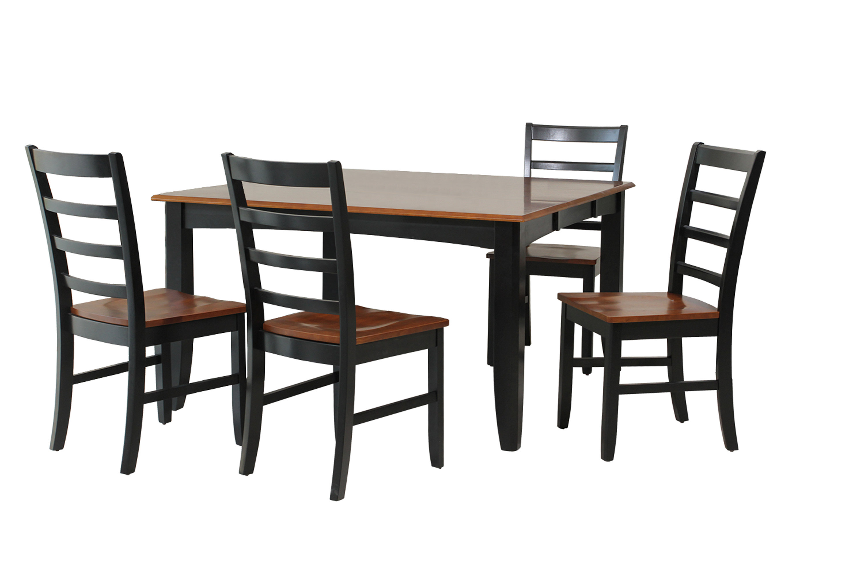 Inspiration about Trendy Hanska Wooden 5 Piece Counter Height Dining Table Sets (Set Of 5) Within Red Barrel Studio Venizelos 5 Piece Solid Wood Dining Set (#7 of 20)