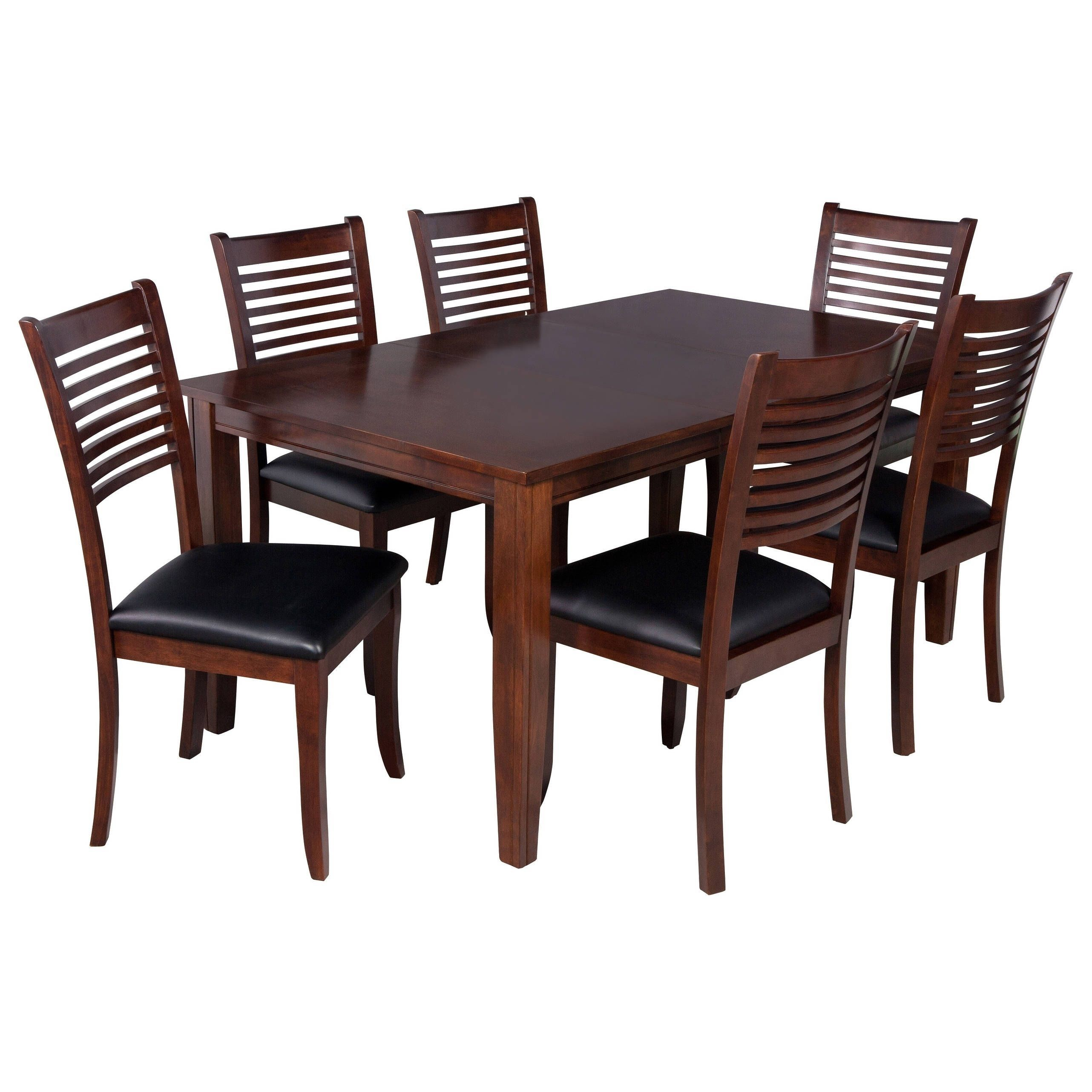 "Inspiration about Ttp Furnish 7 Piece Solid Wood Dining Set ""aden"", Modern Kitchen With Regard To Most Current Adan 5 Piece Solid Wood Dining Sets (Set Of 5) (#10 of 20)"