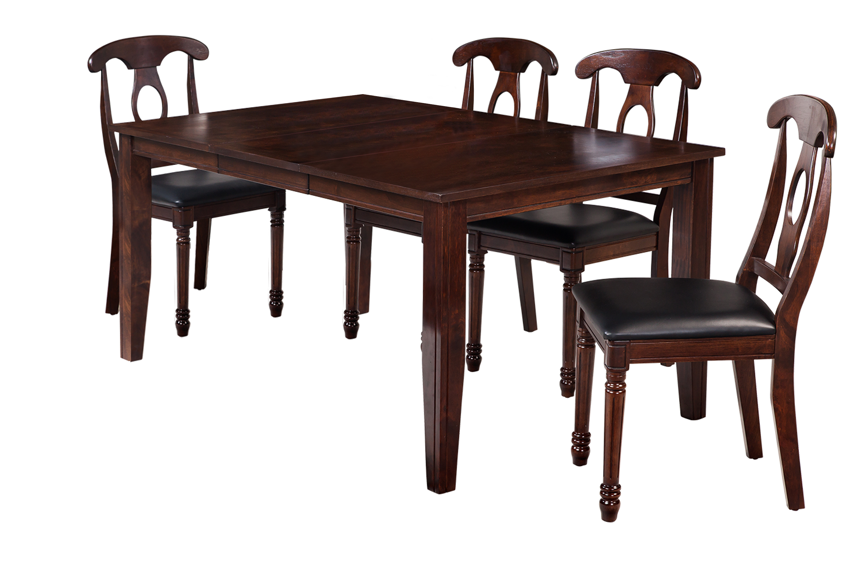 Ttp Furnish Regarding Most Recently Released Adan 5 Piece Solid Wood Dining Sets (Set Of 5) (#15 of 20)