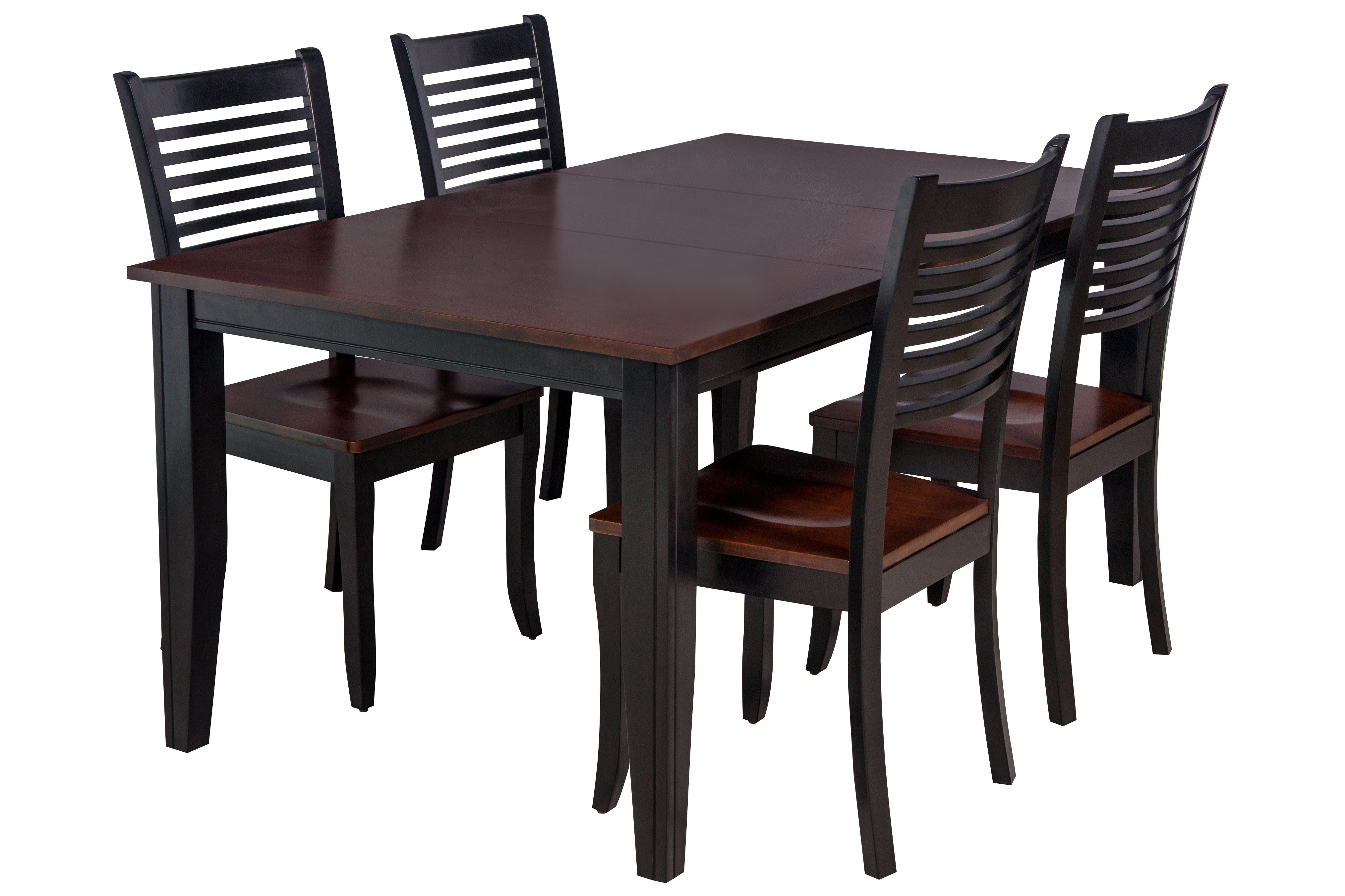 Popular Photo of Adan 5 Piece Solid Wood Dining Sets (Set Of 5)