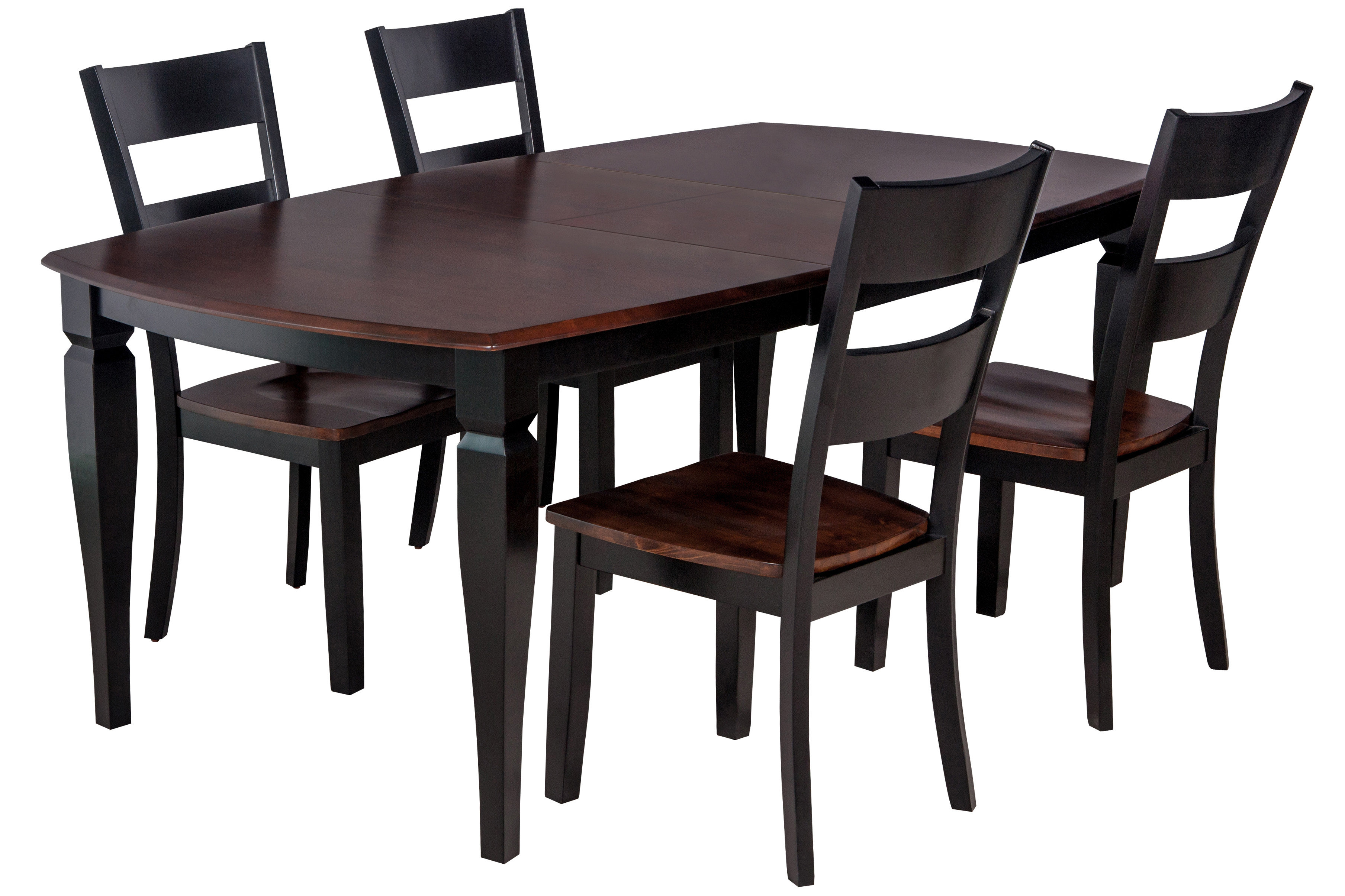 Ttpfurnish Victoria 5 Piece Solid Wood Dining Set (#18 of 20)