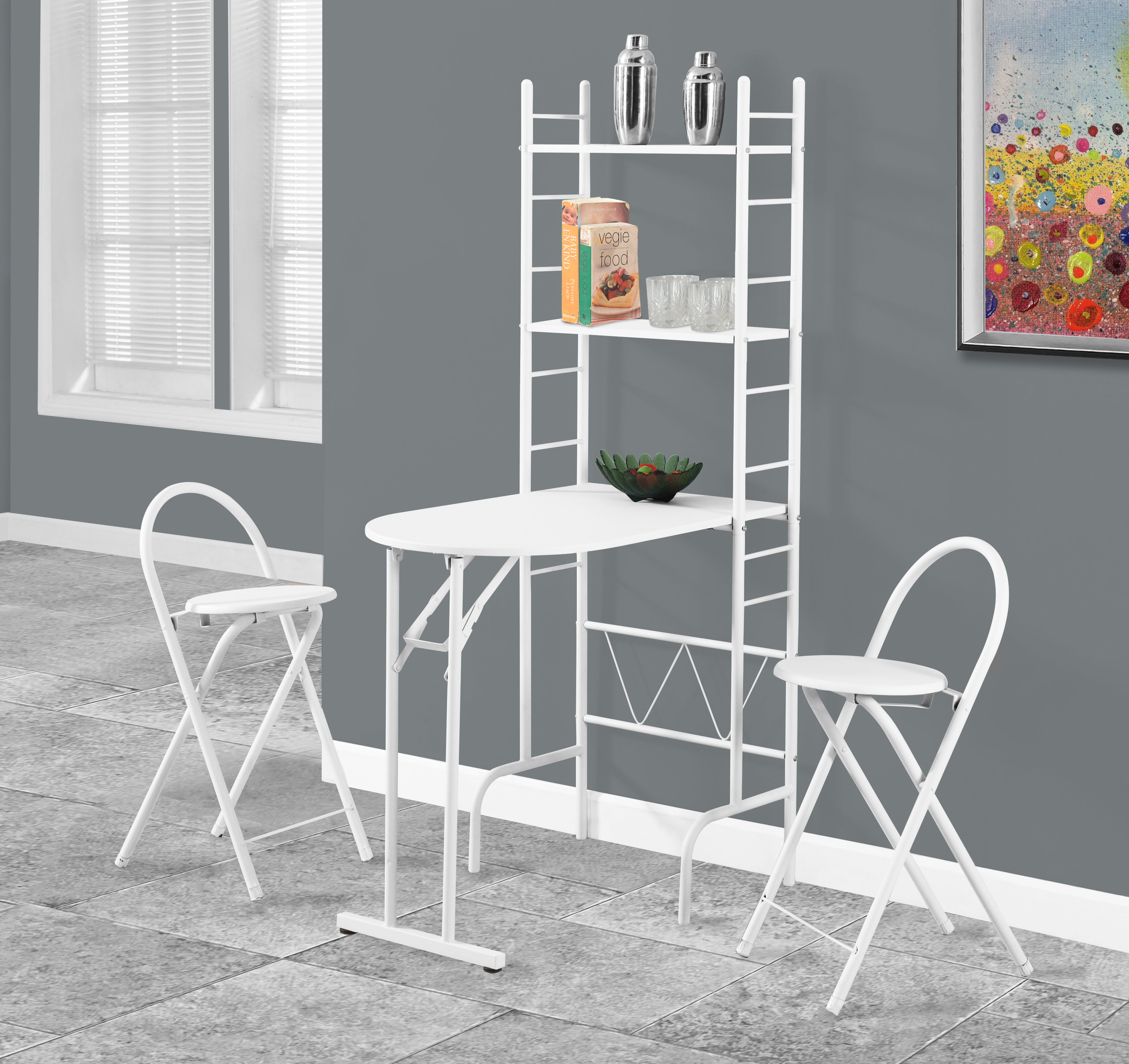 Inspiration about Turnalar 5 Piece Dining Sets For Trendy Monarch Specialties Inc. 3 Piece Dining Set & Reviews (#7 of 20)