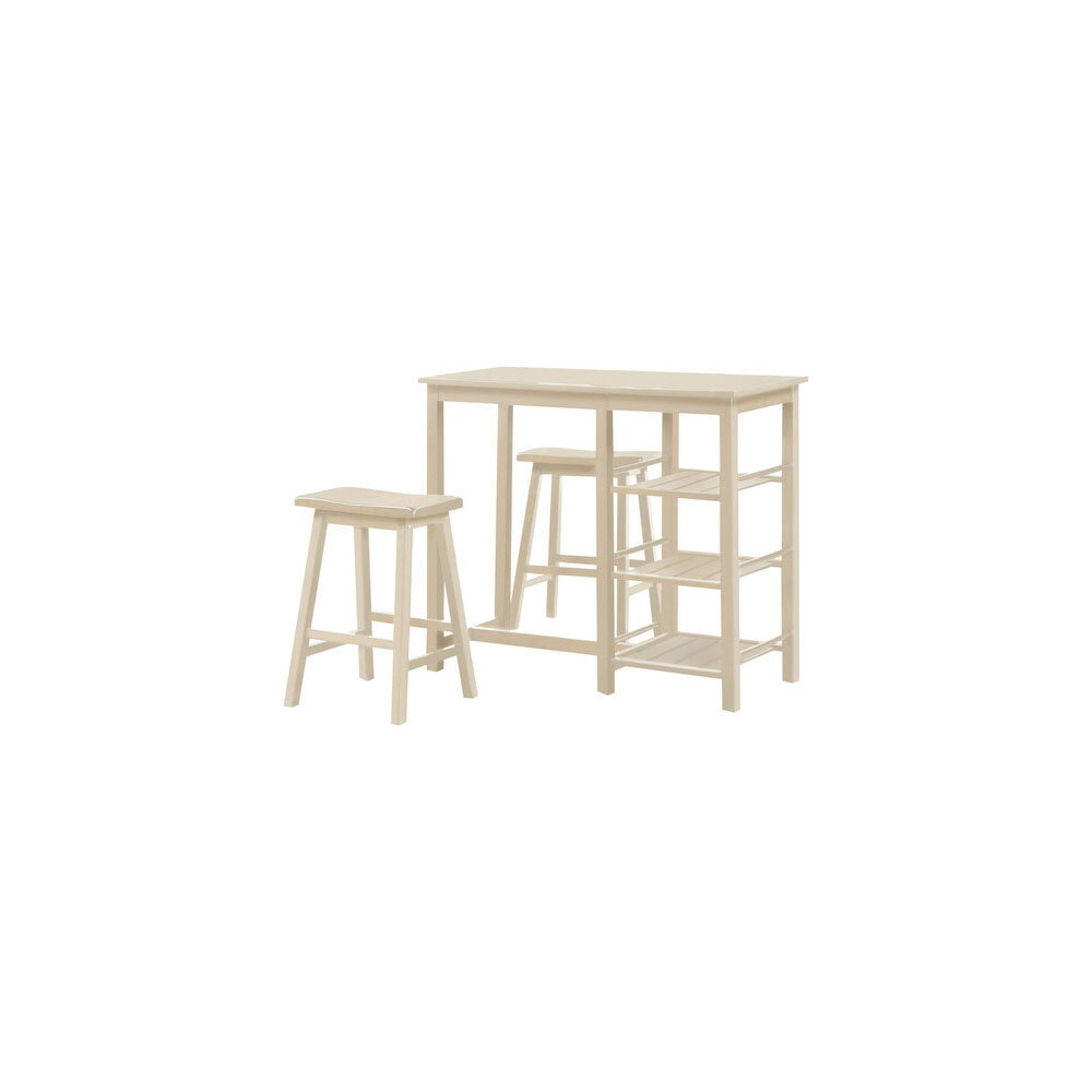 Inspiration about Valladares 3 Piece Pub Table Sets Regarding 2020 Winston Porter Inouye 3 Piece Counter Height Dining Set (#5 of 20)