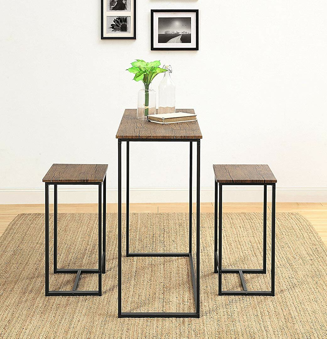 Popular Photo of Kaelin 5 Piece Dining Sets