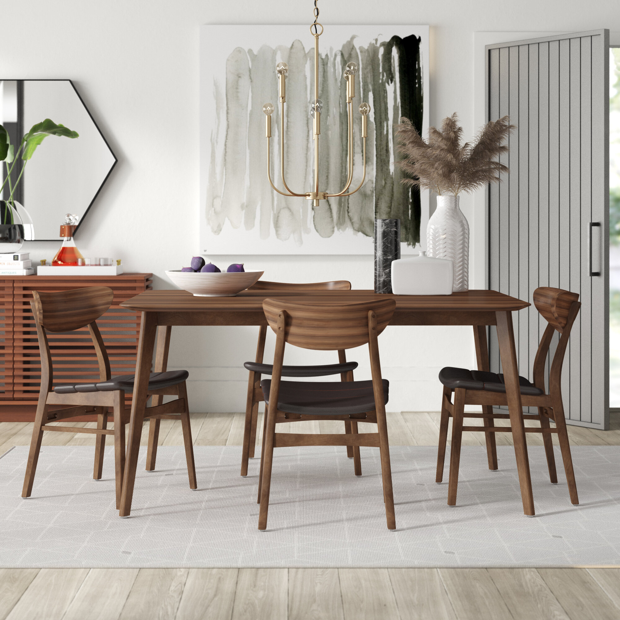 Inspiration about Wayfair For Best And Newest Casiano 5 Piece Dining Sets (#5 of 20)