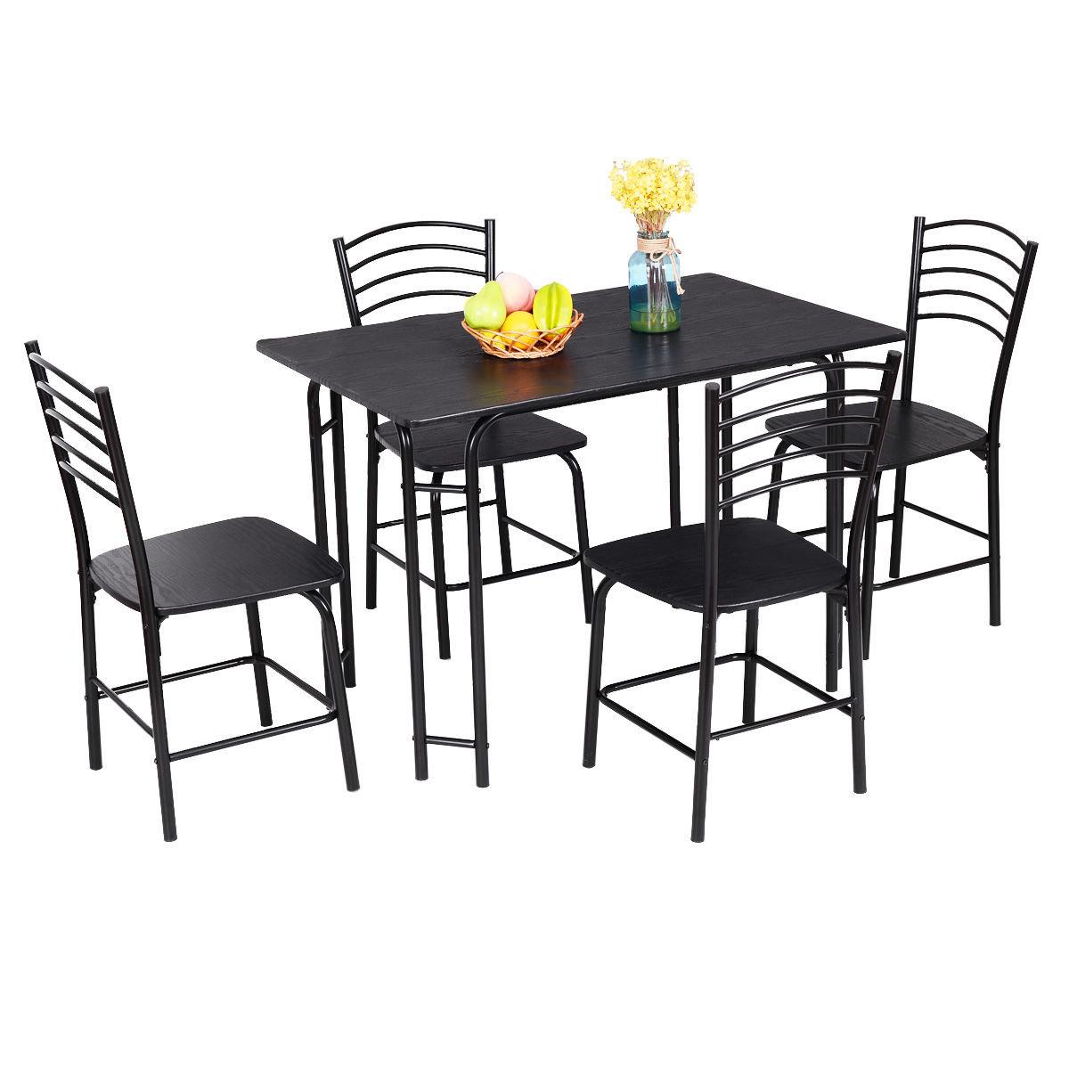 Popular Photo of Ephraim 5 Piece Dining Sets