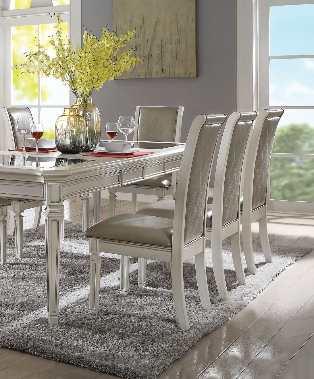 Inspiration about Wayfair For Famous Lamotte 5 Piece Dining Sets (#7 of 20)