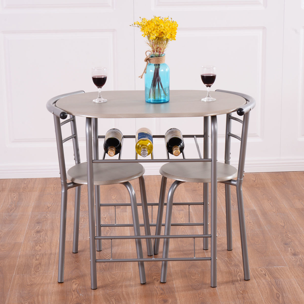 Wayfair For Isolde 3 Piece Dining Sets (#17 of 20)