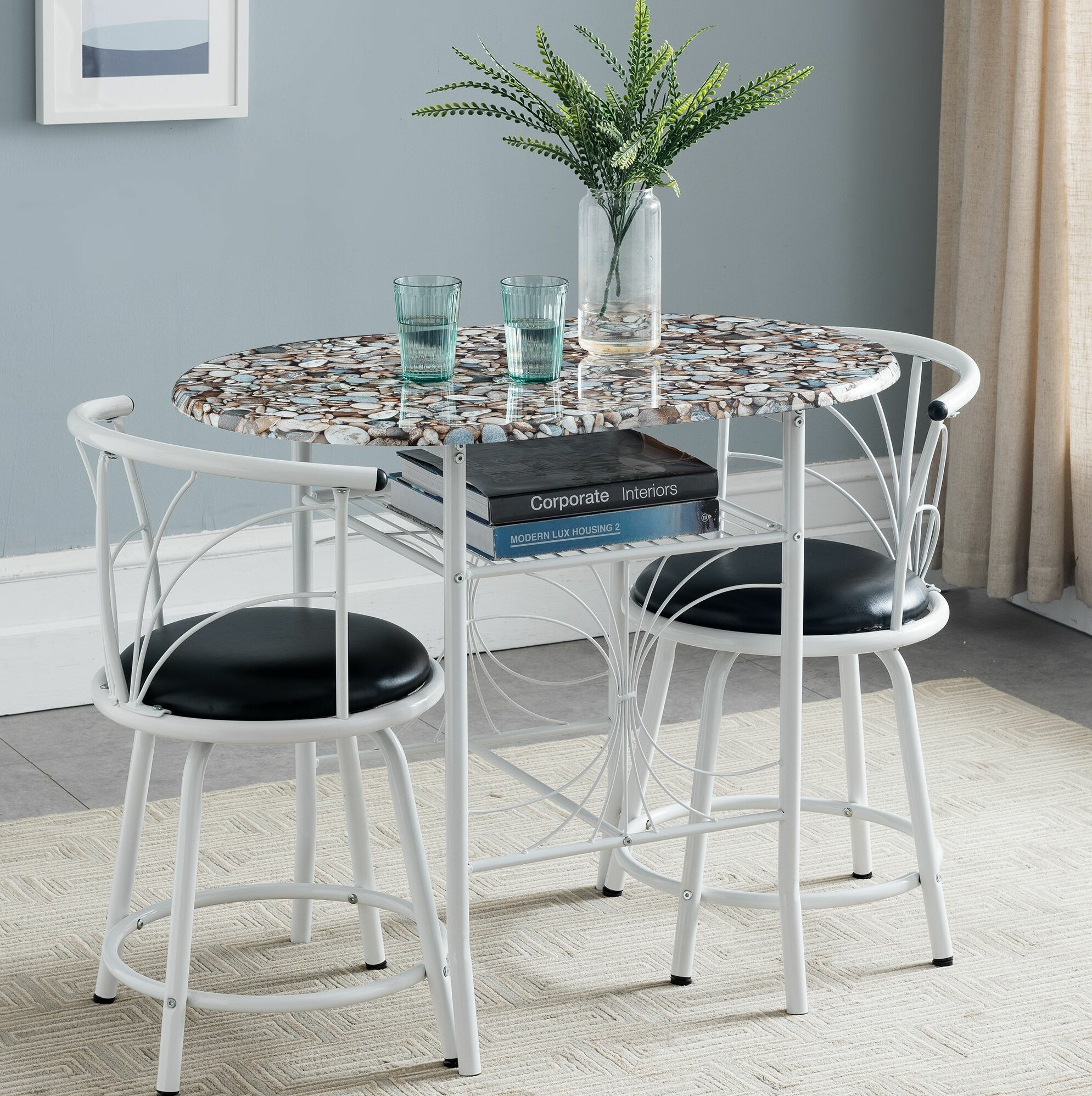 Inspiration about Wayfair For West Hill Family Table 3 Piece Dining Sets (#11 of 20)