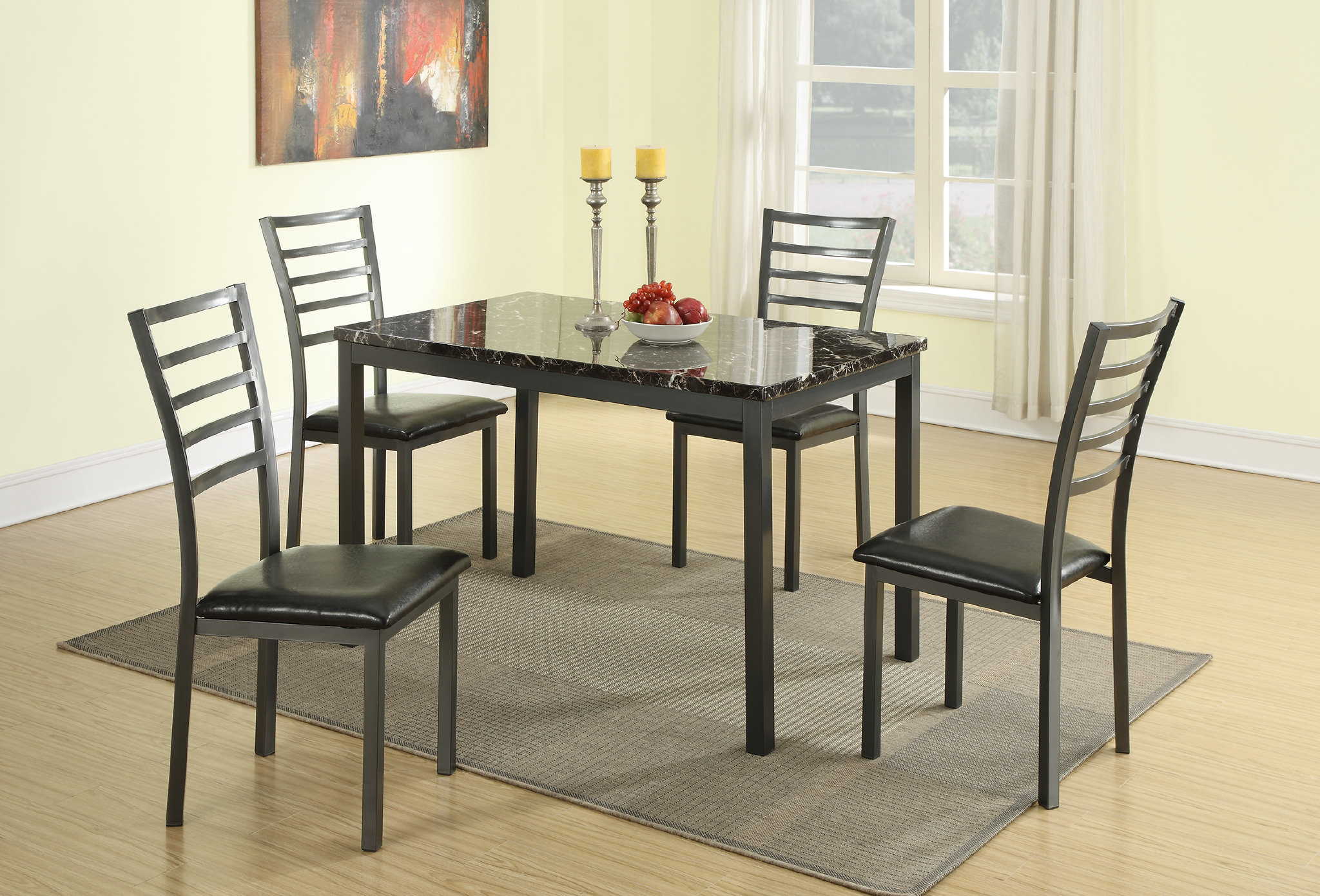 Inspiration about Wayfair In Taulbee 5 Piece Dining Sets (#5 of 20)