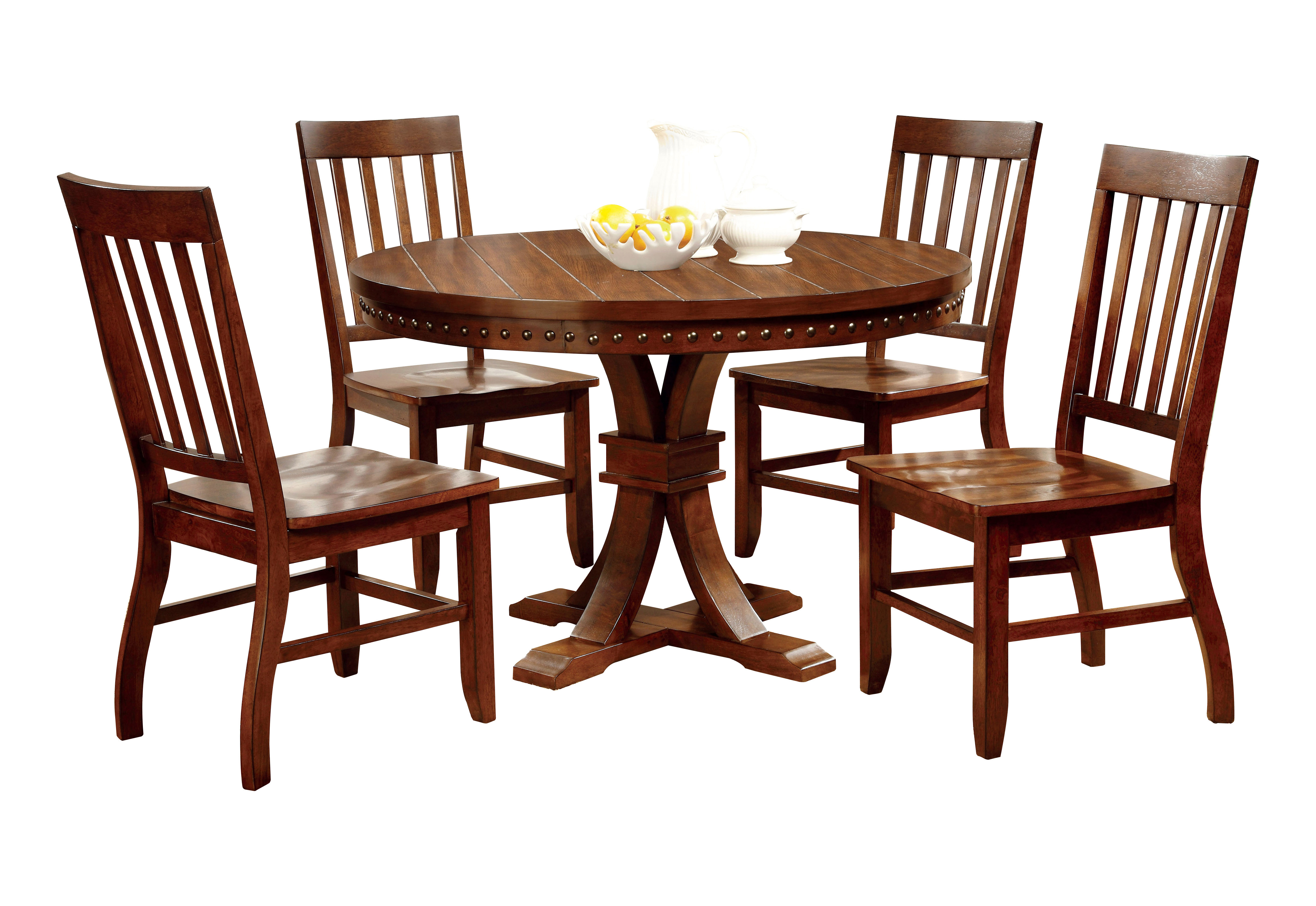 Wayfair Intended For Fashionable Jarrod 5 Piece Dining Sets (#19 of 20)