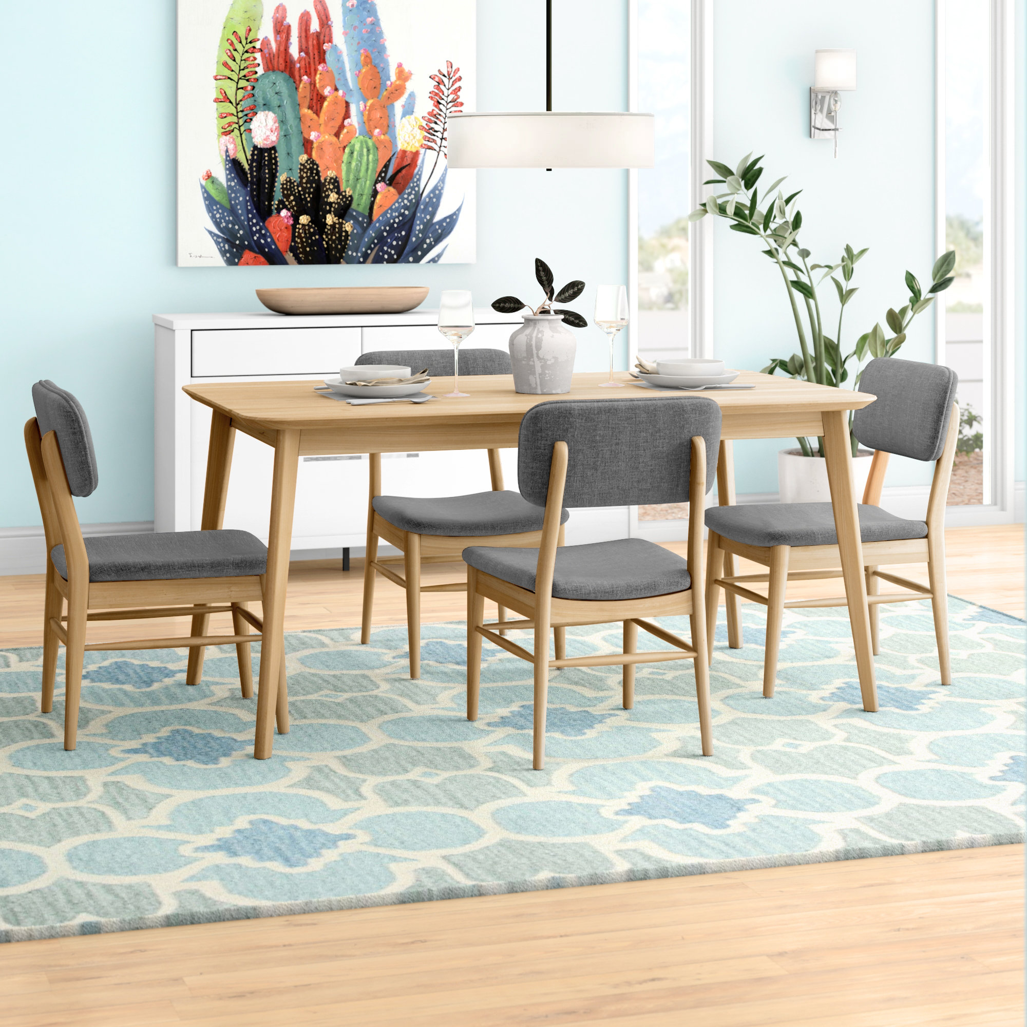 Inspiration about Wayfair Intended For Favorite Telauges 5 Piece Dining Sets (#12 of 20)