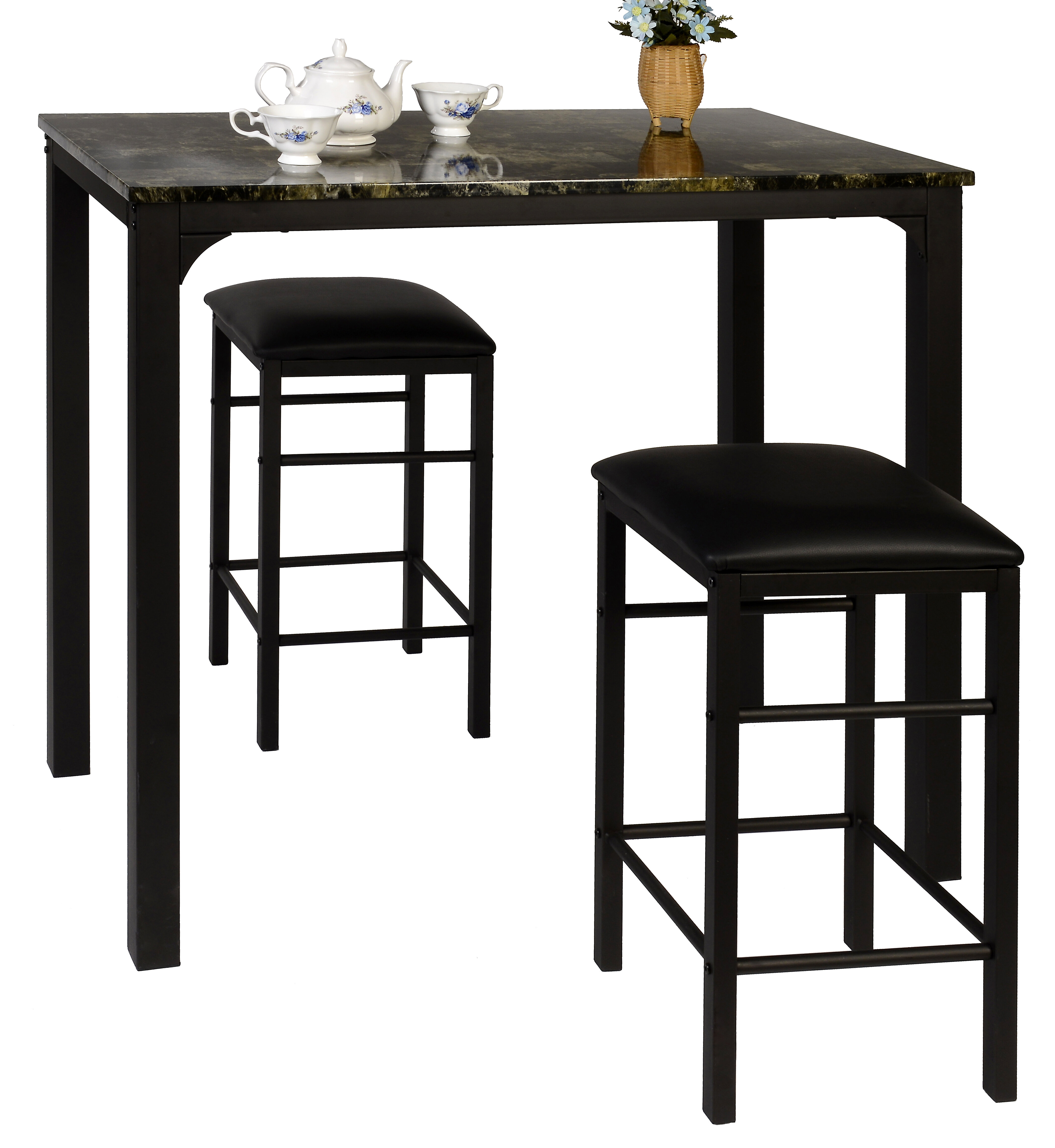 Wayfair Intended For Miskell 3 Piece Dining Sets (View 2 of 20)