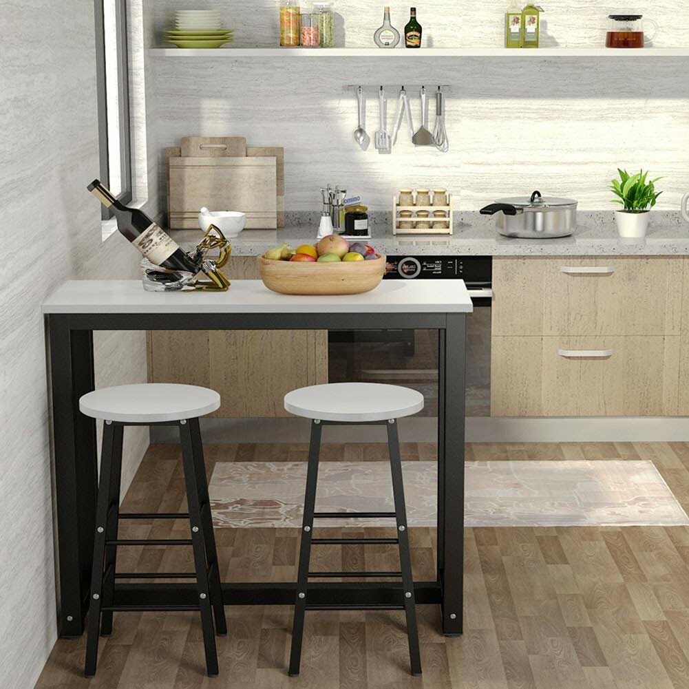 Wayfair Intended For Wallflower 3 Piece Dining Sets (View 2 of 20)