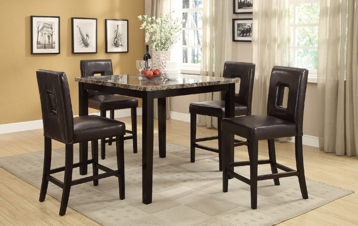 Inspiration about Wayfair Regarding 2020 Askern 3 Piece Counter Height Dining Sets (Set Of 3) (#7 of 20)