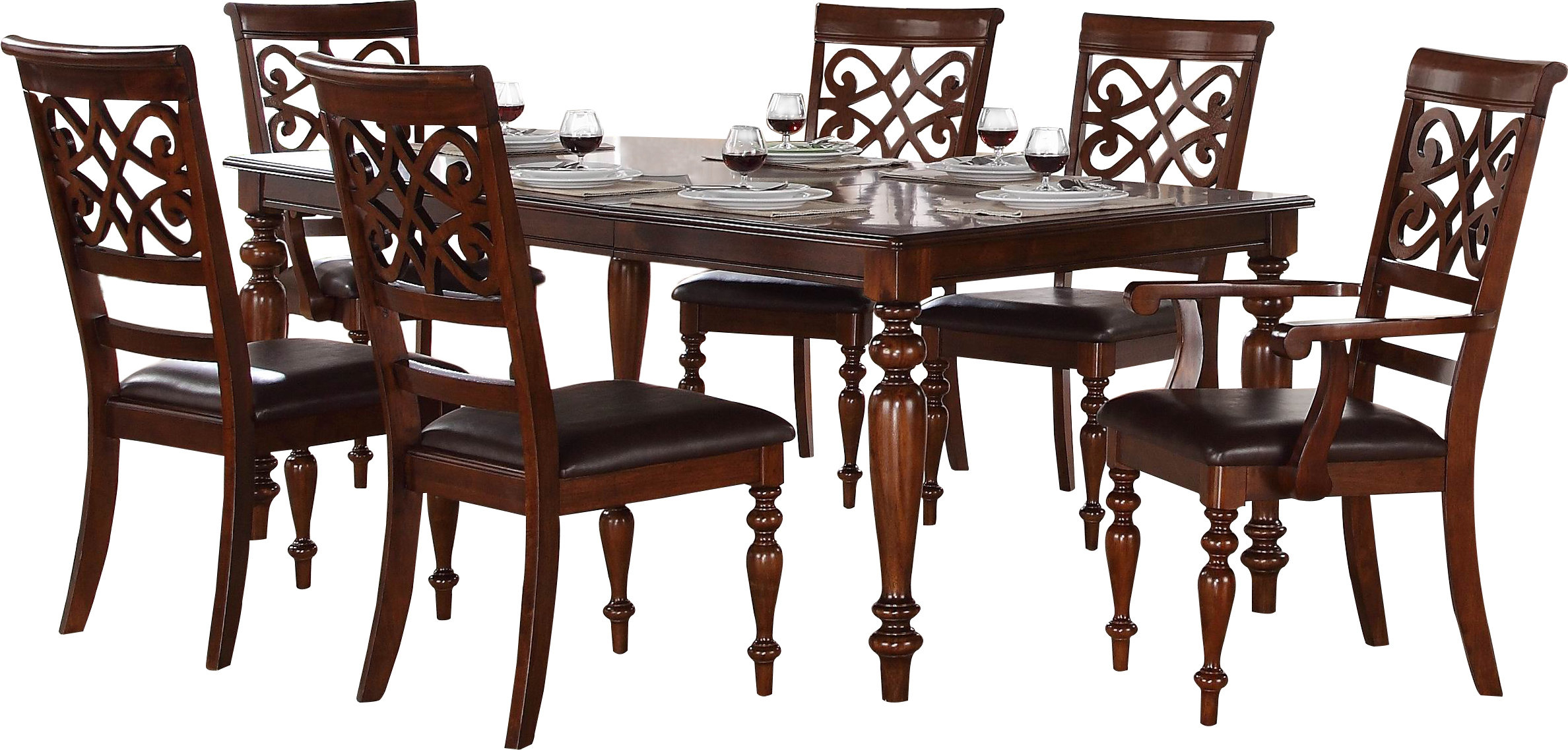 Wayfair Regarding Favorite Laconia 7 Pieces Solid Wood Dining Sets (Set Of 7) (#15 of 20)