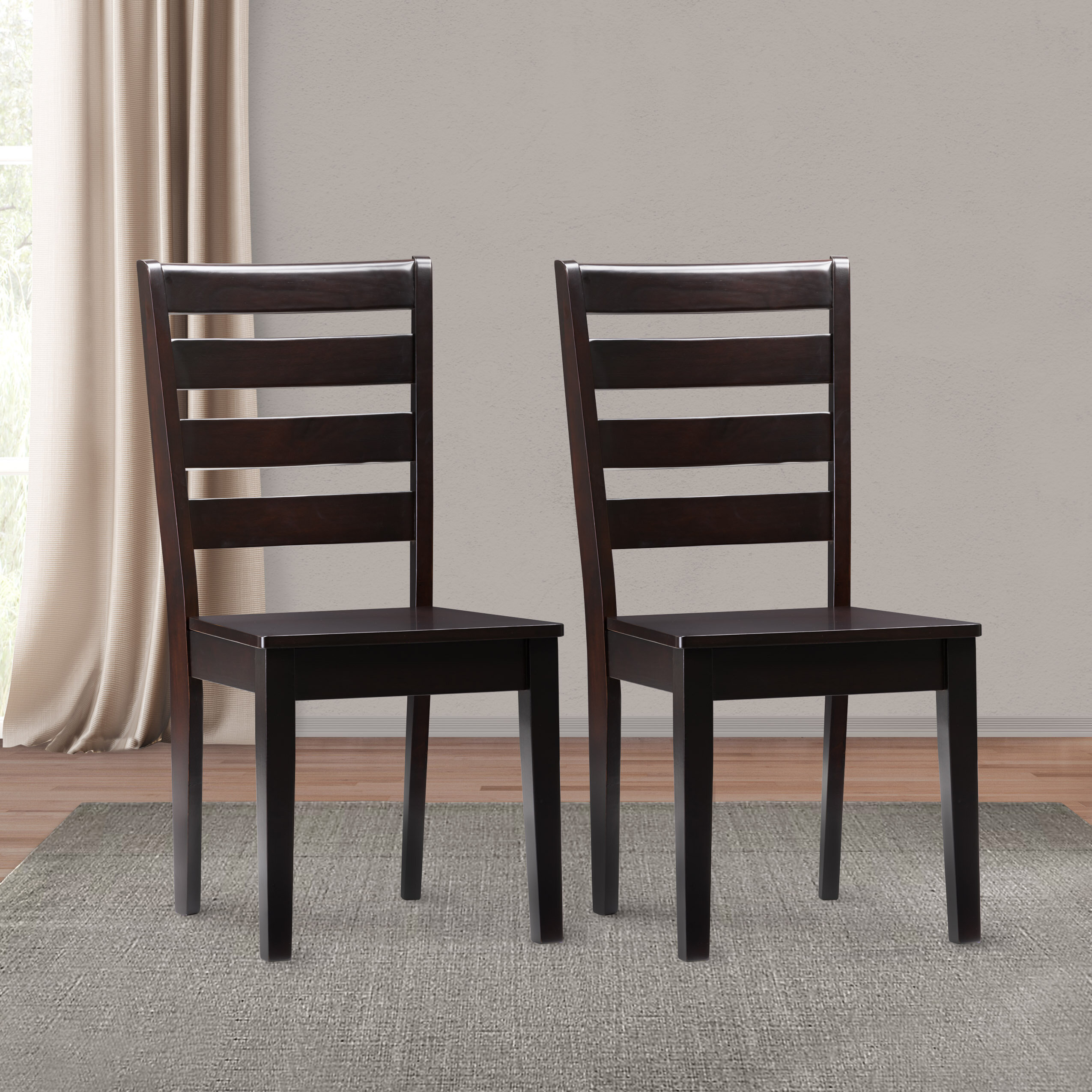 Wayfair Regarding Newest Goodman 5 Piece Solid Wood Dining Sets (Set Of 5) (View 16 of 20)