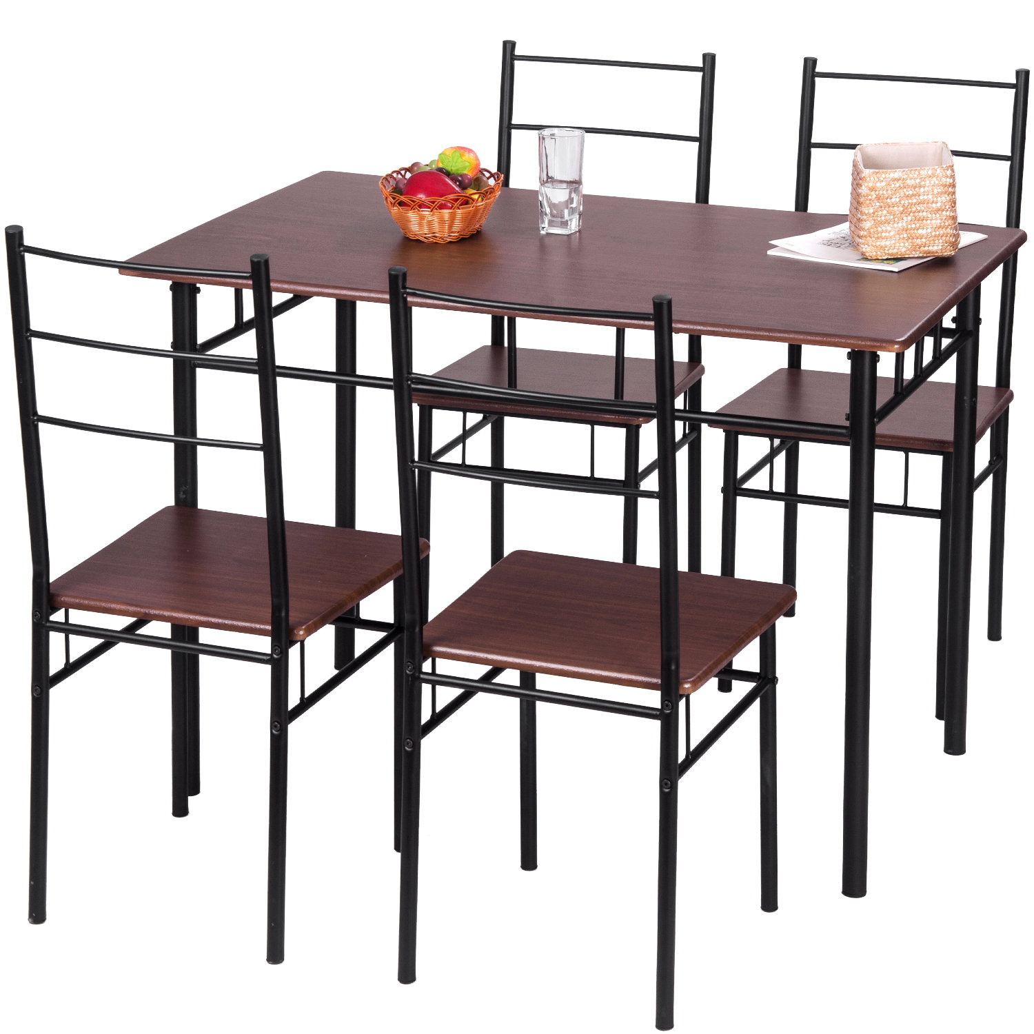 Wayfair Throughout Jarrod 5 Piece Dining Sets (#20 of 20)