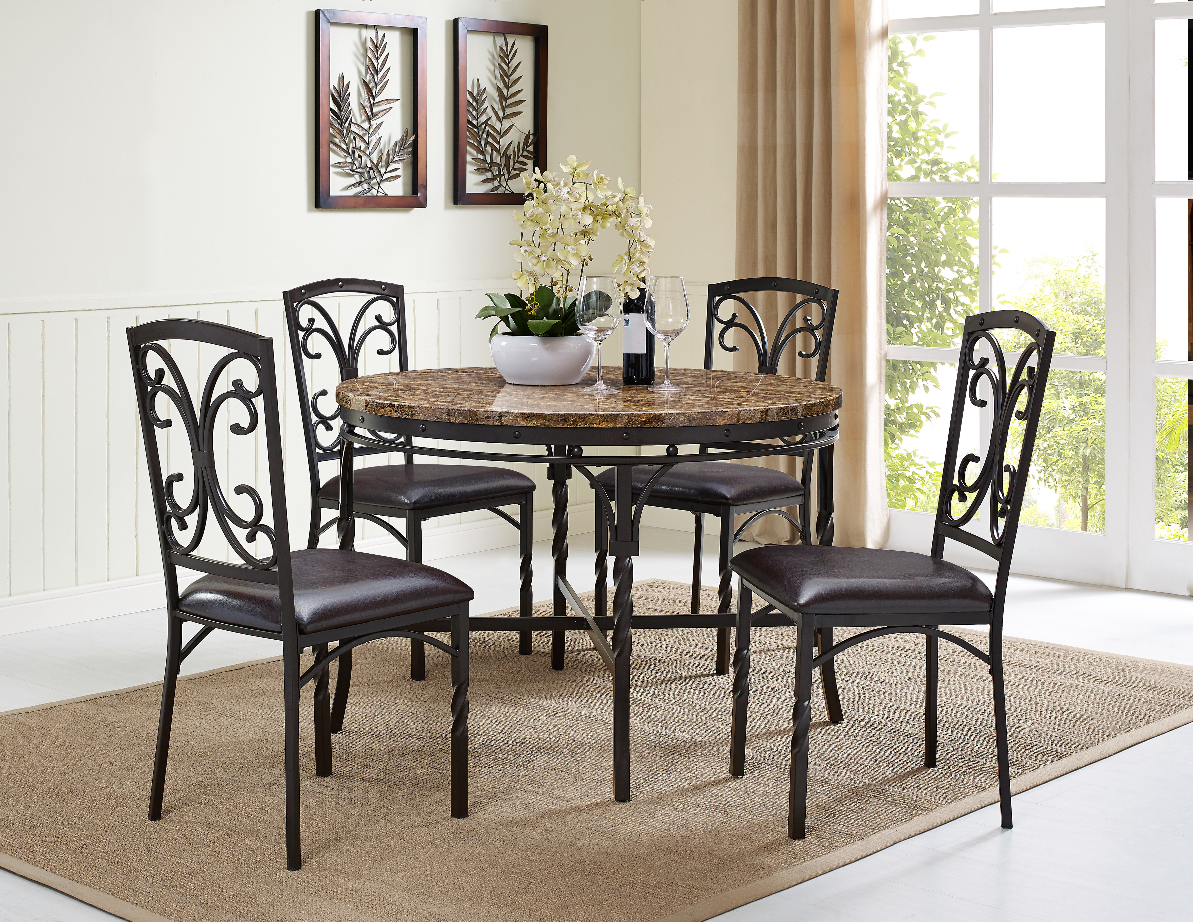 Inspiration about Wayfair With Best And Newest Pattonsburg 5 Piece Dining Sets (#20 of 20)